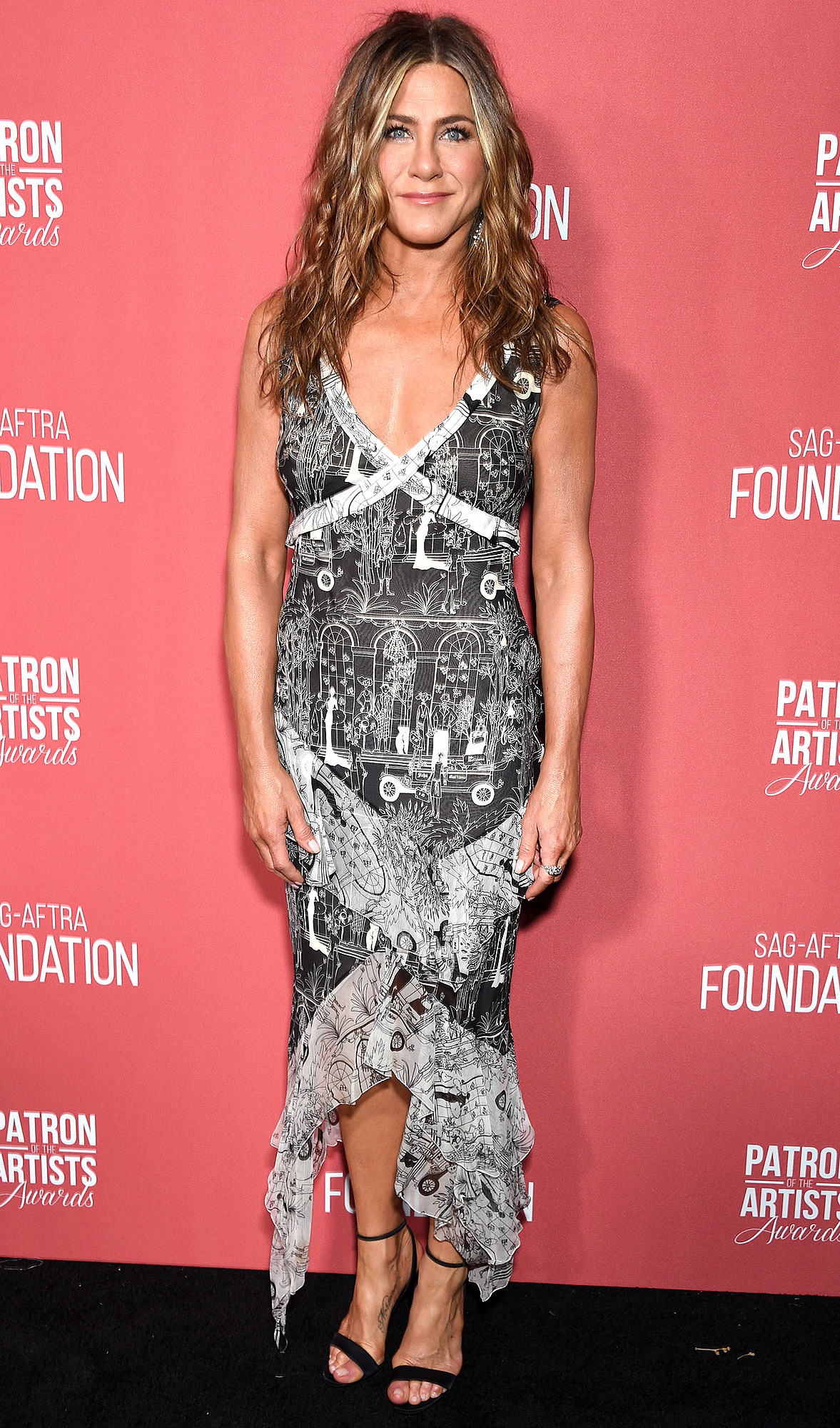 Jennifer Aniston attends SAG-AFTRA Foundation's 4th Annual Patron of the Artists Awards