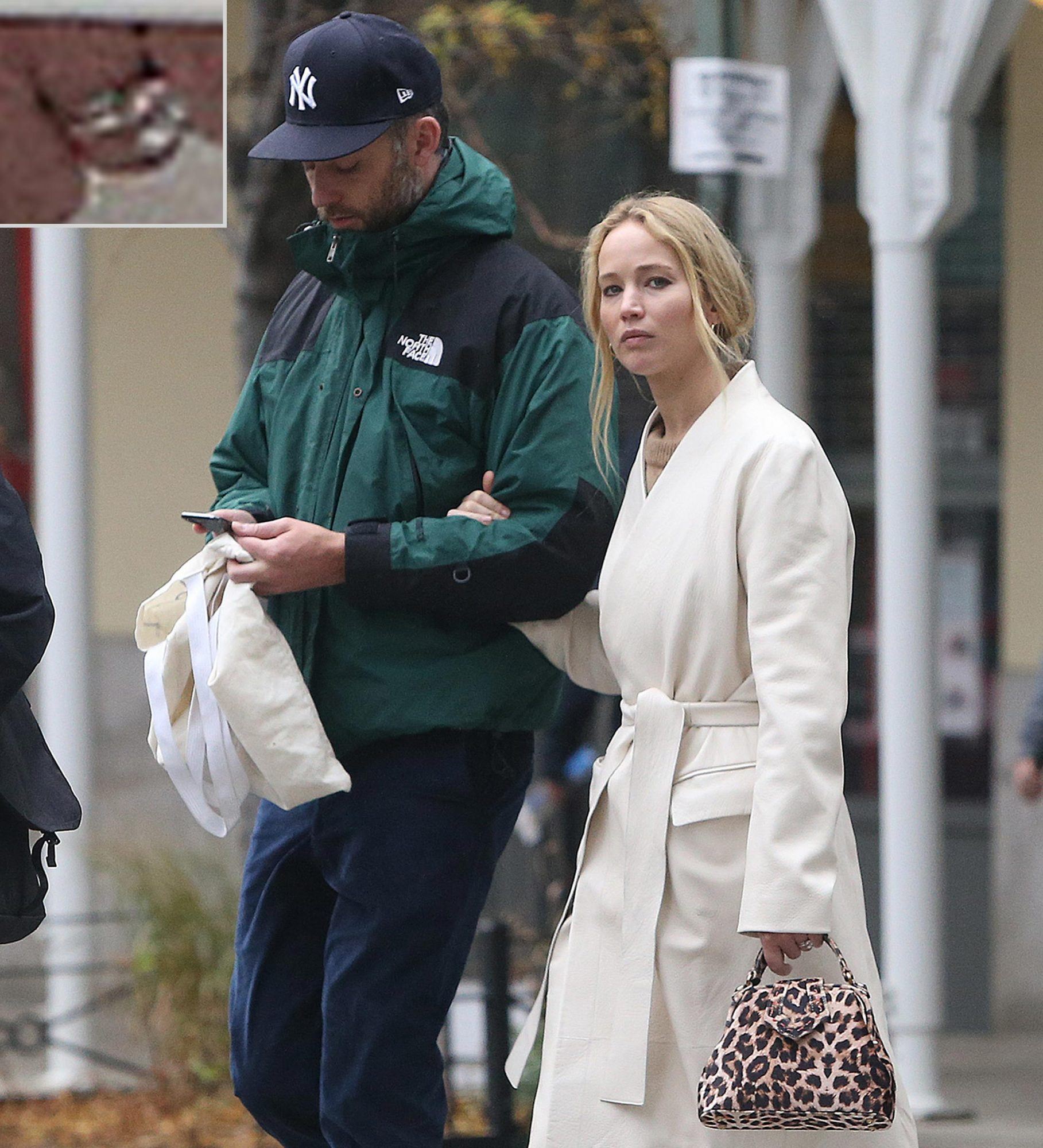 Jennifer Lawrence Steps Out With Cooke Maroney Wearing Her Wedding Ring People Com
