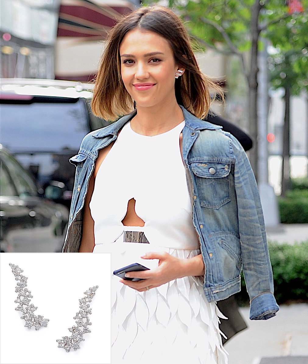 Jessica Alba seen out and about in New York City