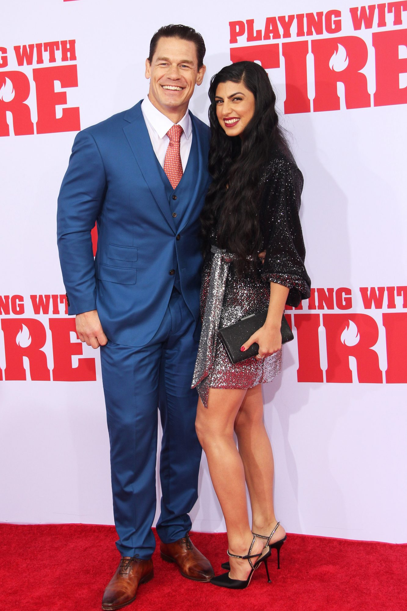 John Cena and Shay Shariatzadeh