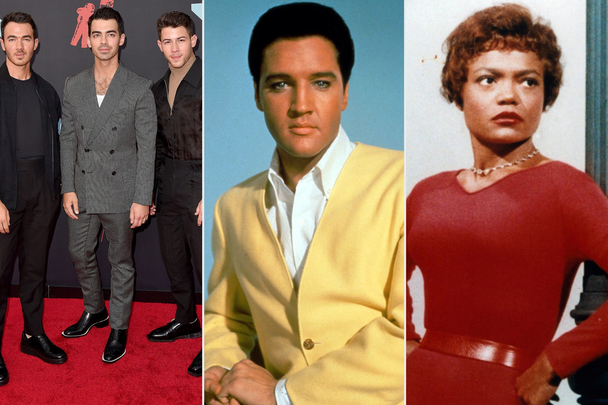Jonas Brothers, Elvis, Eartha Kitt
