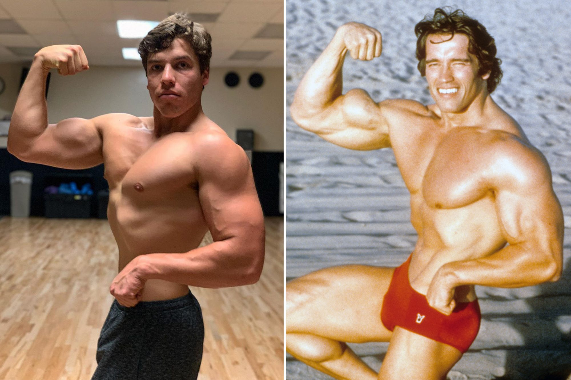Arnold Schwarzenegger's Lookalike Son Joseph Baena, 22, Shows off His Buff Physique