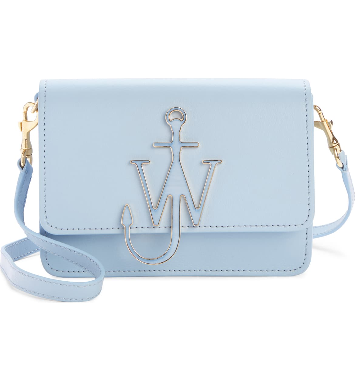 JW Anderson logo crossbody bag in pastel blue nordstrom