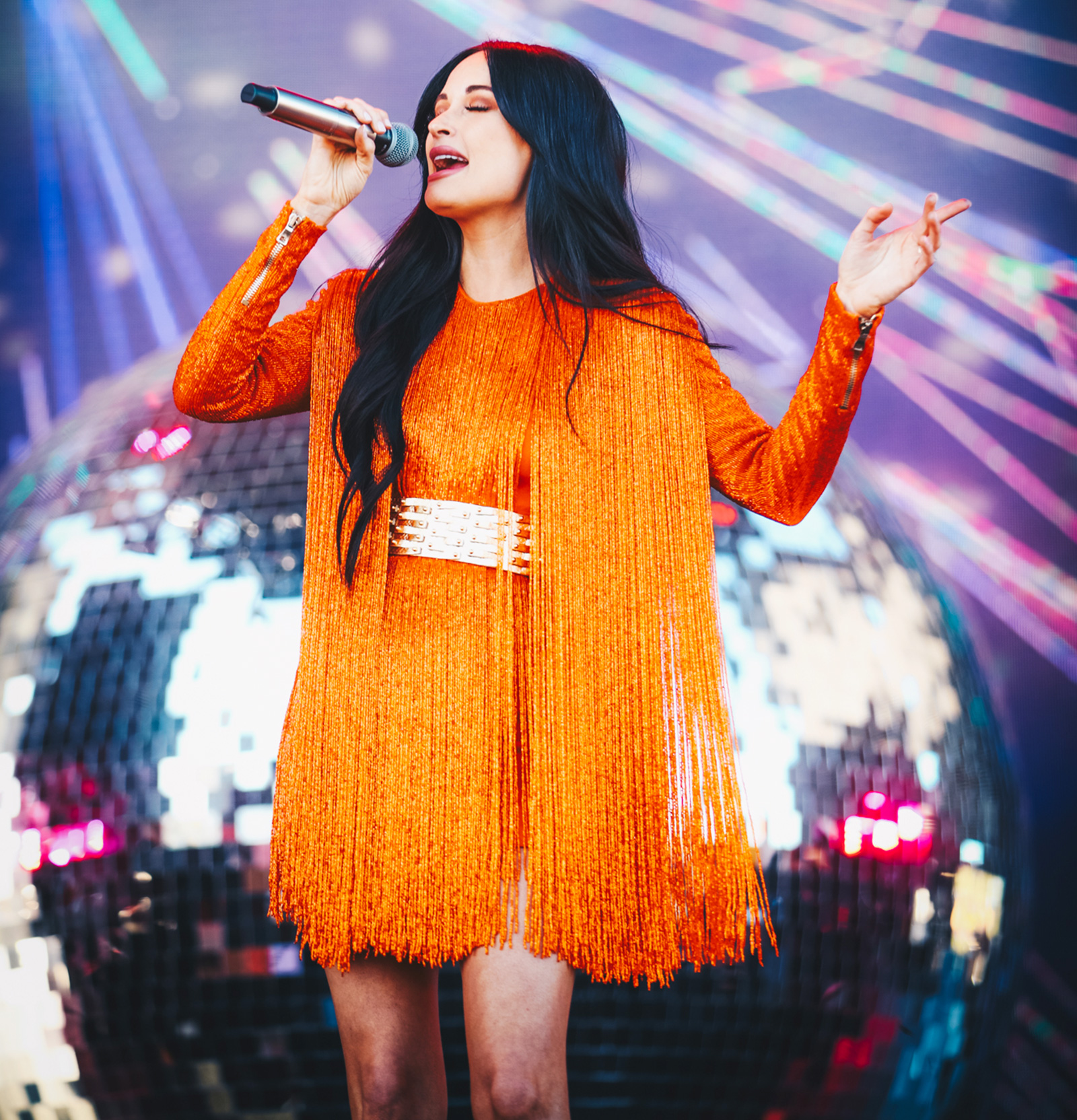 Kacey Musgraves performs on Coachella Stage during the 2019 Coachella Valley Music And Arts Festival on April 12, 2019