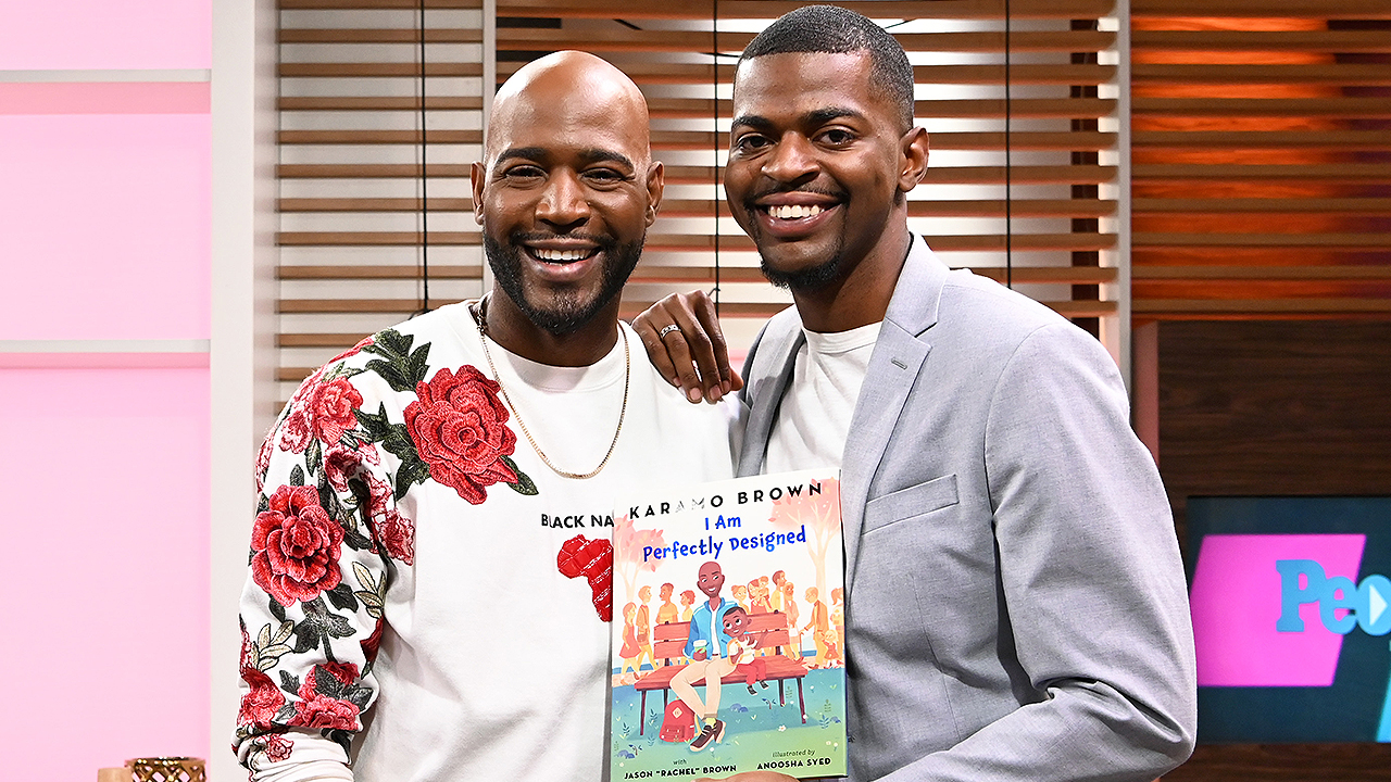 Karamo Brown and Son Jason Share a Real-Life Story That Helped Inspire Their New Children's Book