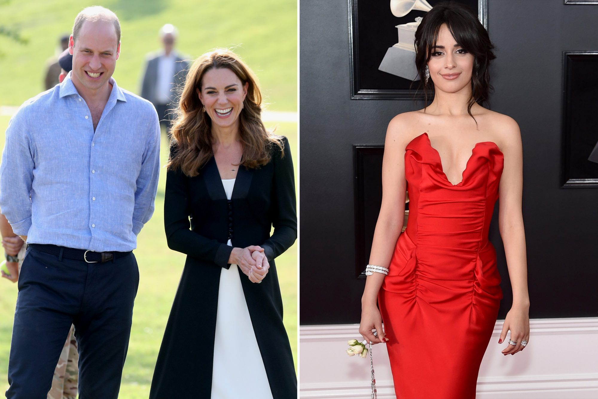 Catherine, Duchess of Cambridge, Prince William, Camilla Cabello