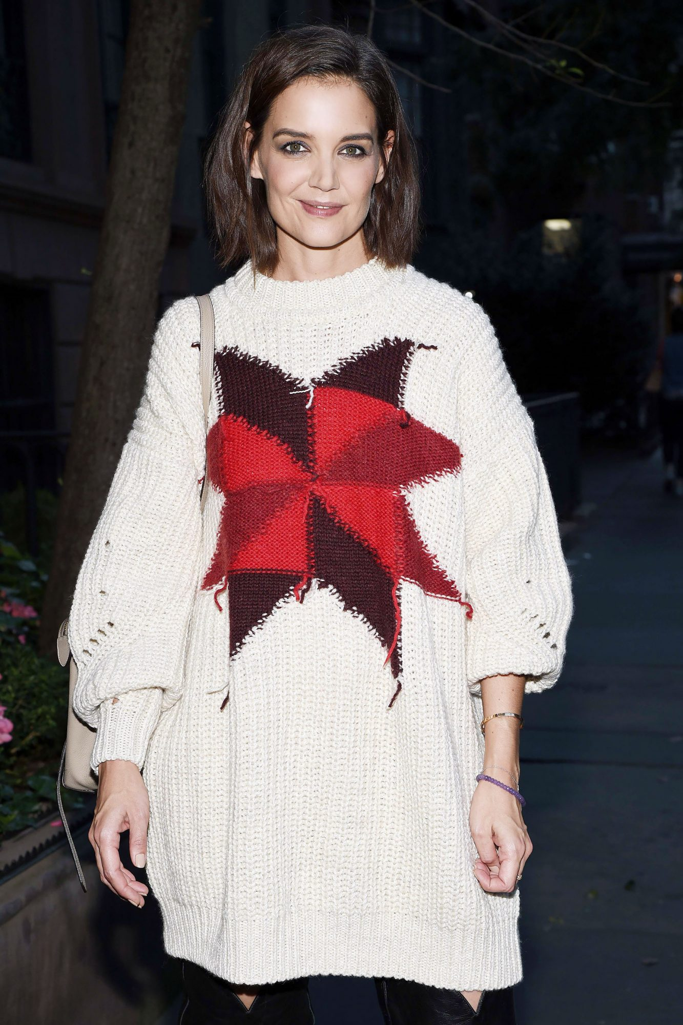 Katie Holmes Arriving to a Blue Diamond Almonds Event