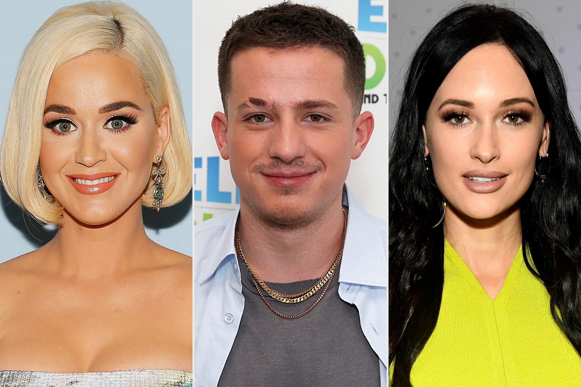 Katy Perry, Charlie Puth, Kacey Musgraves