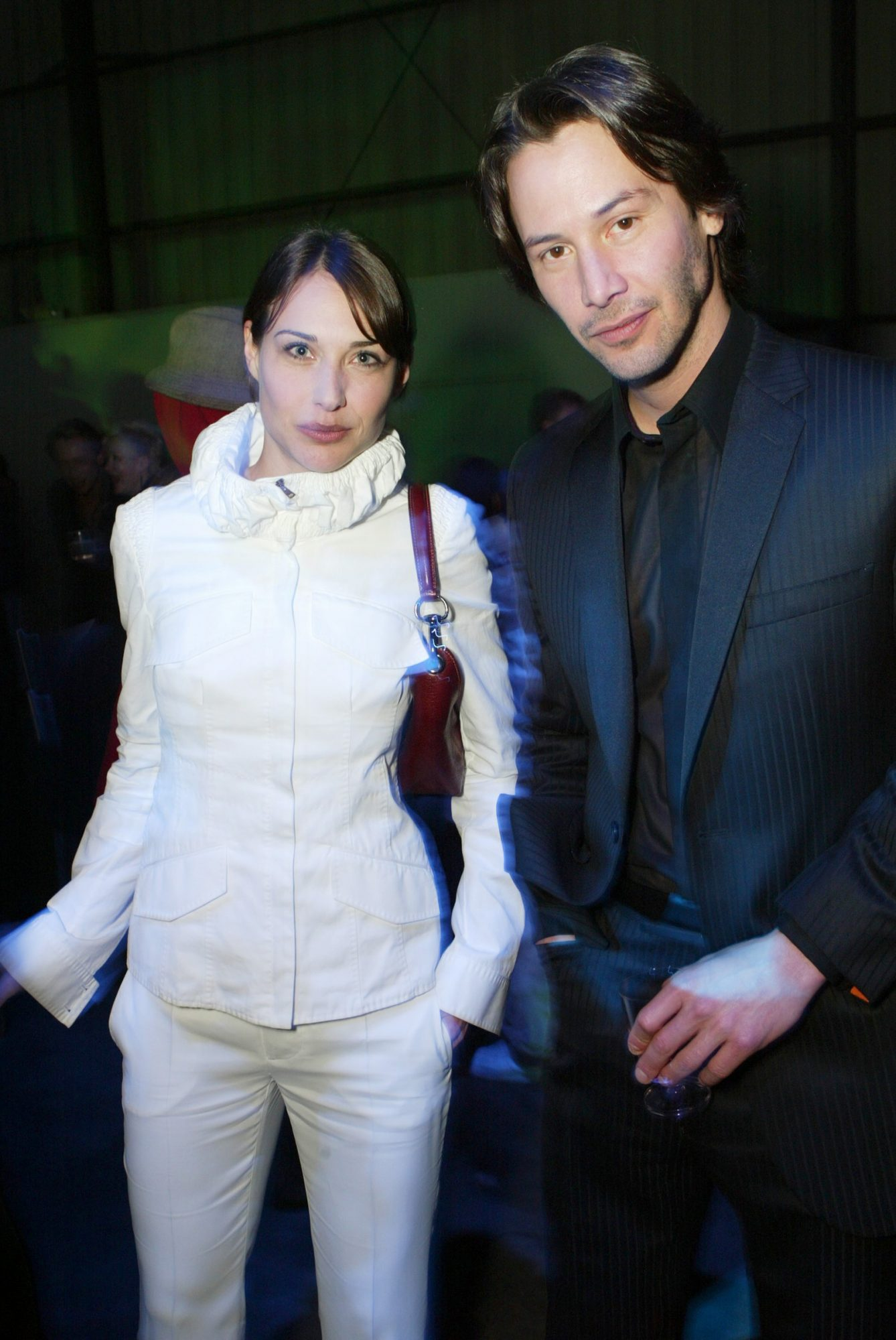 Claire Forlani and Keanu Reeves