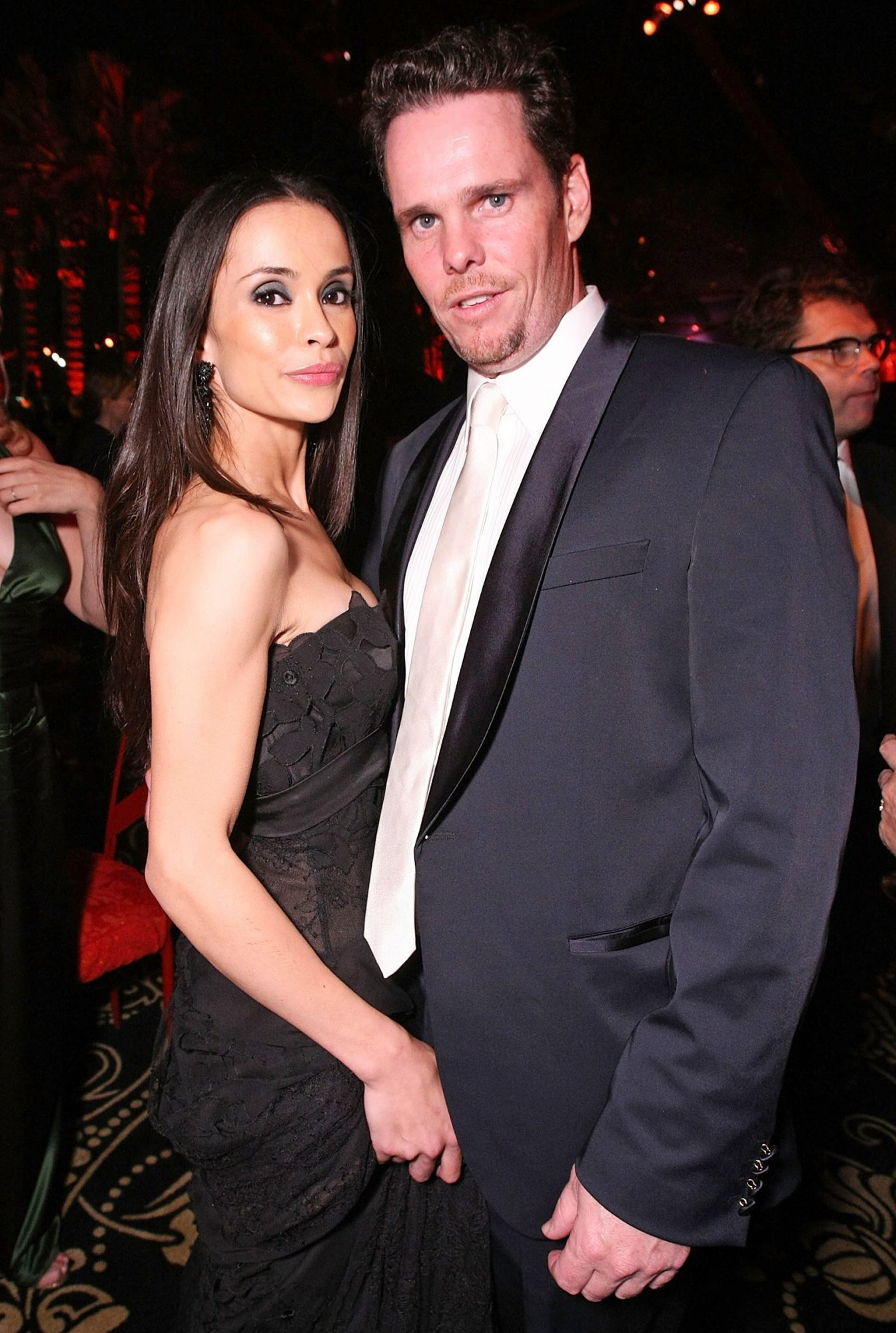 Kevin Dillon and wife Jane Stuart attend HBO's post Emmy Awards reception at the Pacific Design Center on September 20, 2009 in West Hollywood, California