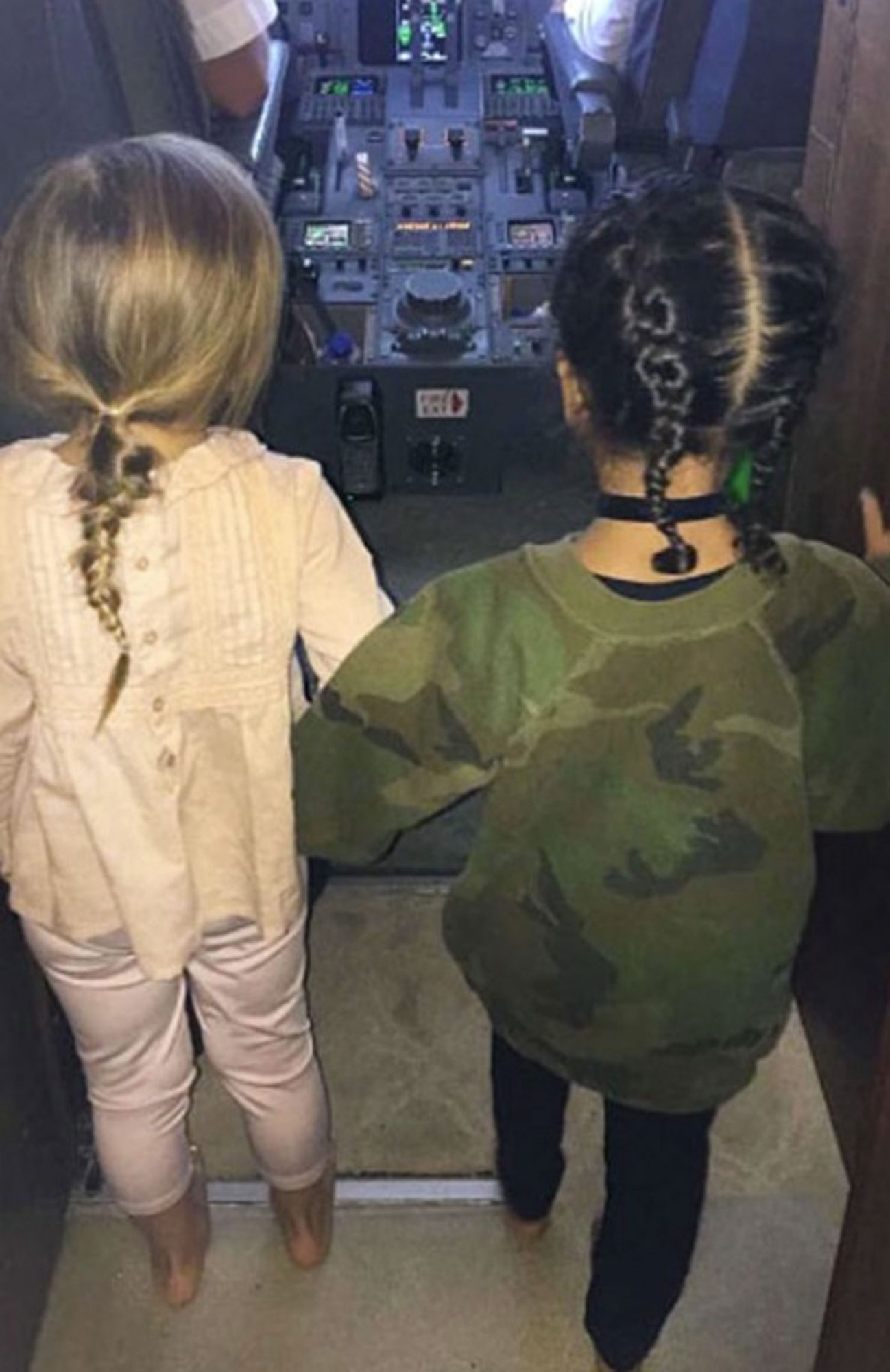 Penelope Disick & North West