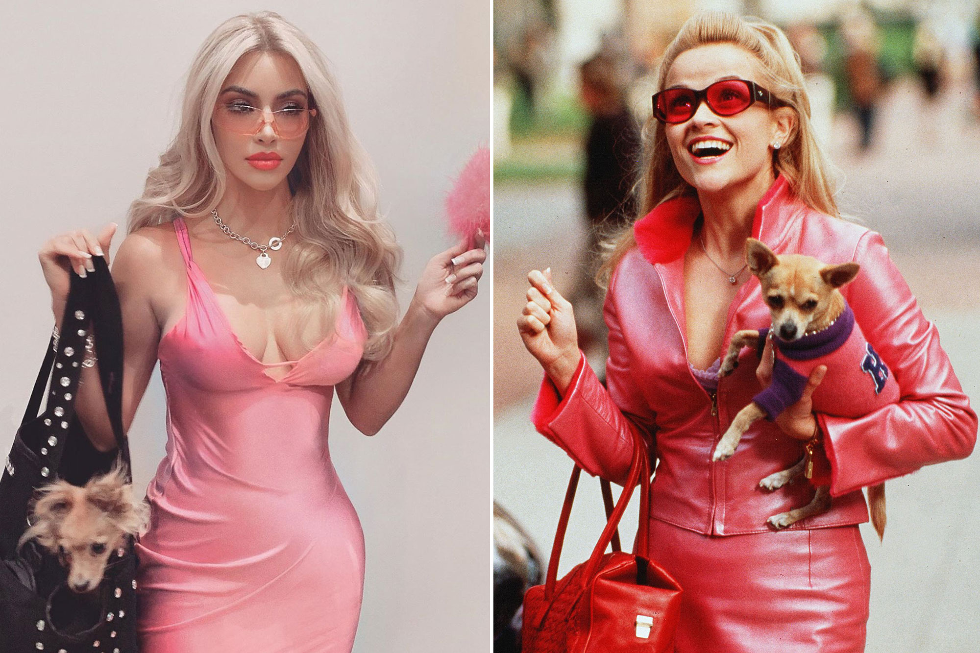 Kim's Legally Blonde Halloween Costume