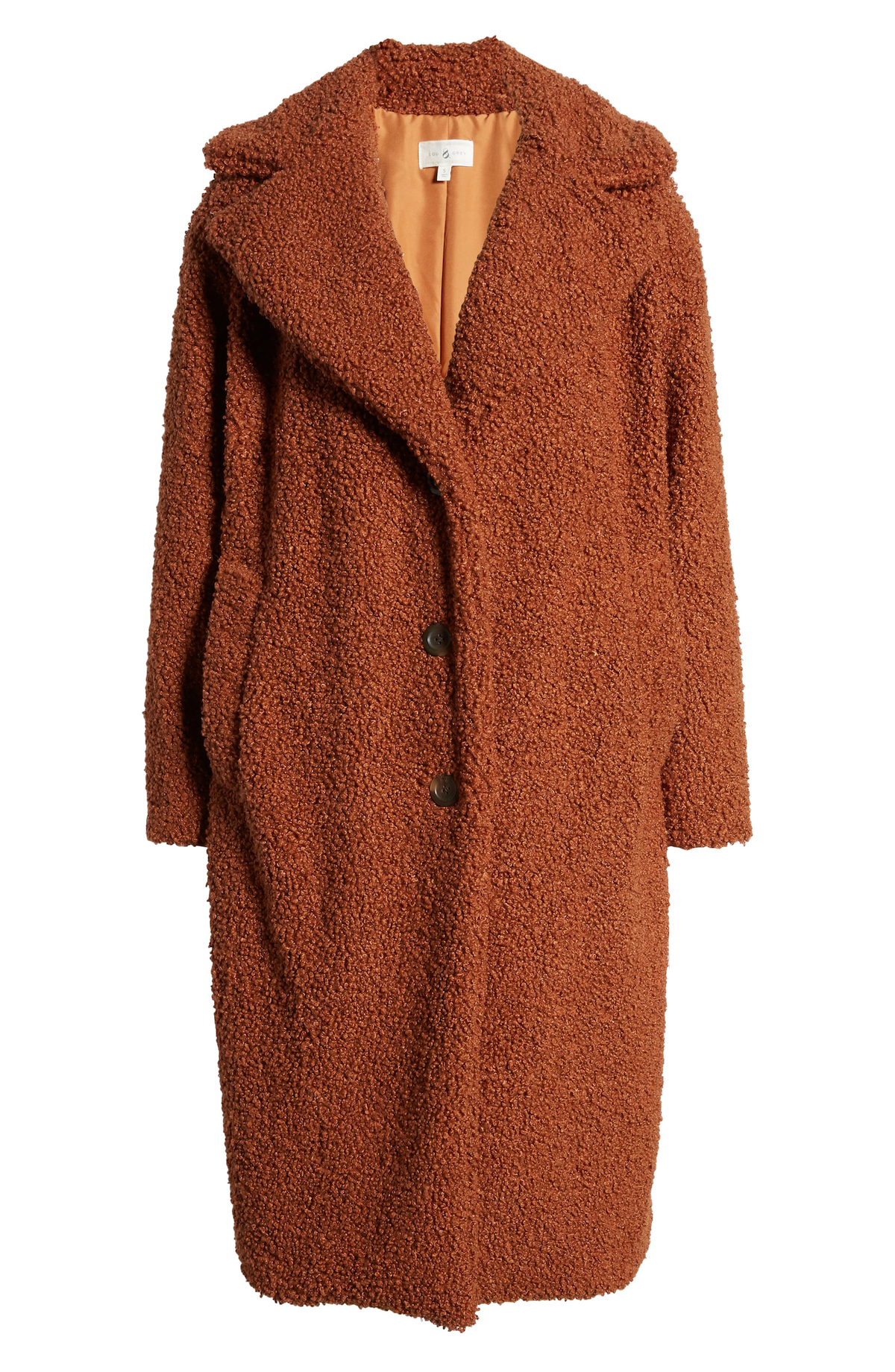 Holiday Gift Guide 2019 Cozy Up Faux Shearling Coat LOU & GREY Price$198.00 at nordstrom