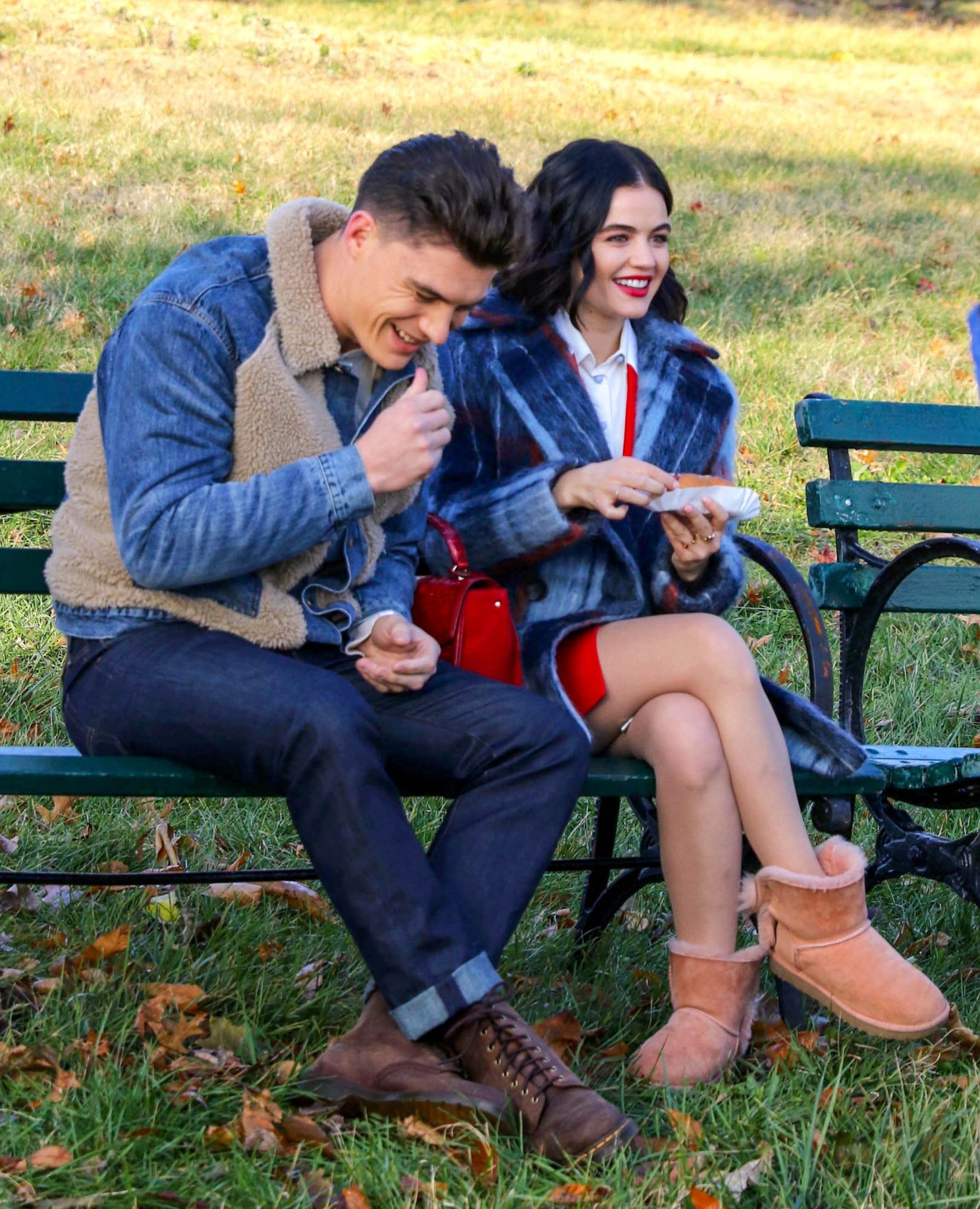 Lucy hale and zane hotly