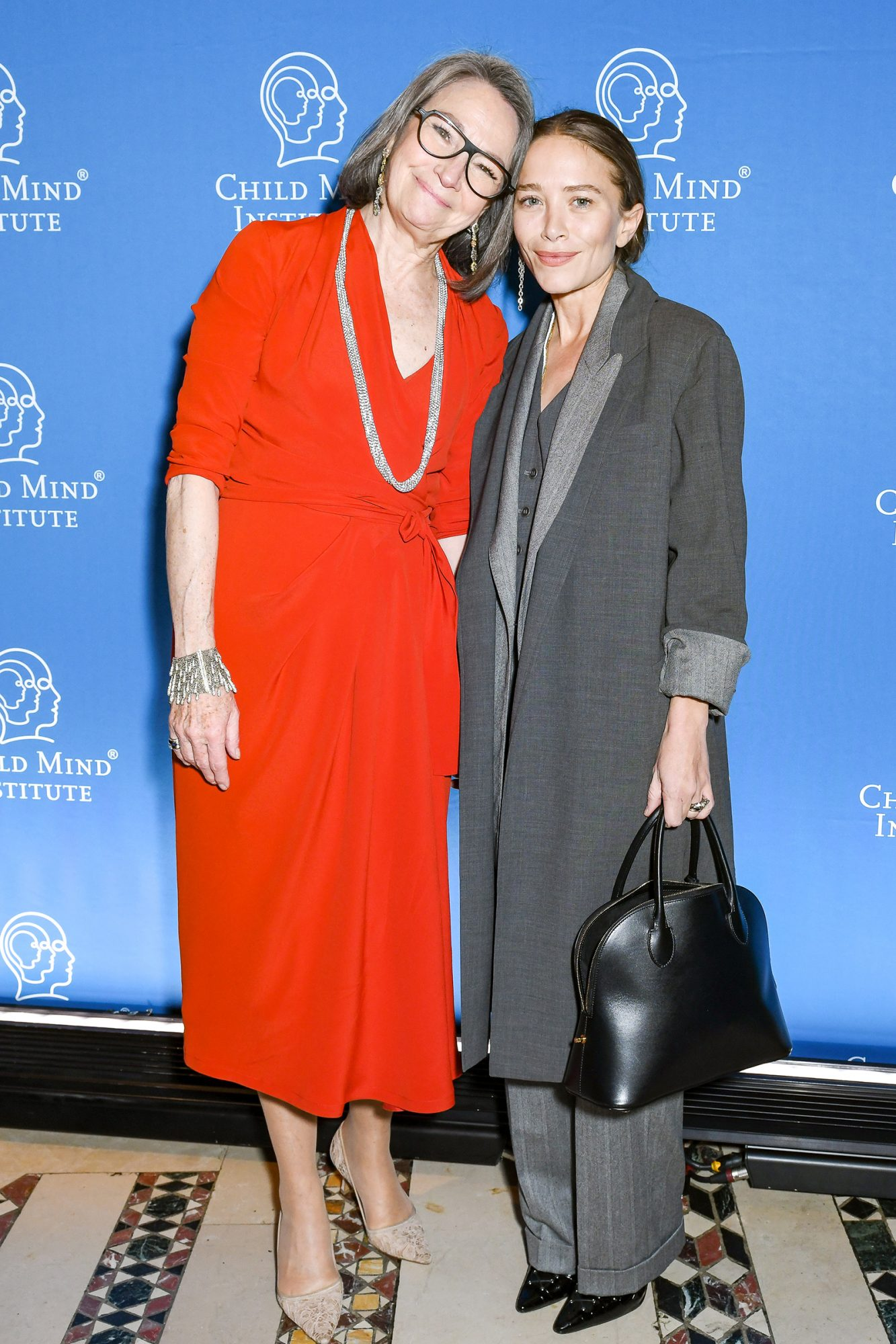Brooke Garber Neidich, Mary-Kate Olsen attend the Child Mind Institute 2019: Child Advocacy Award Dinner, Cipriani 42nd Street, NYC November 19, 2019