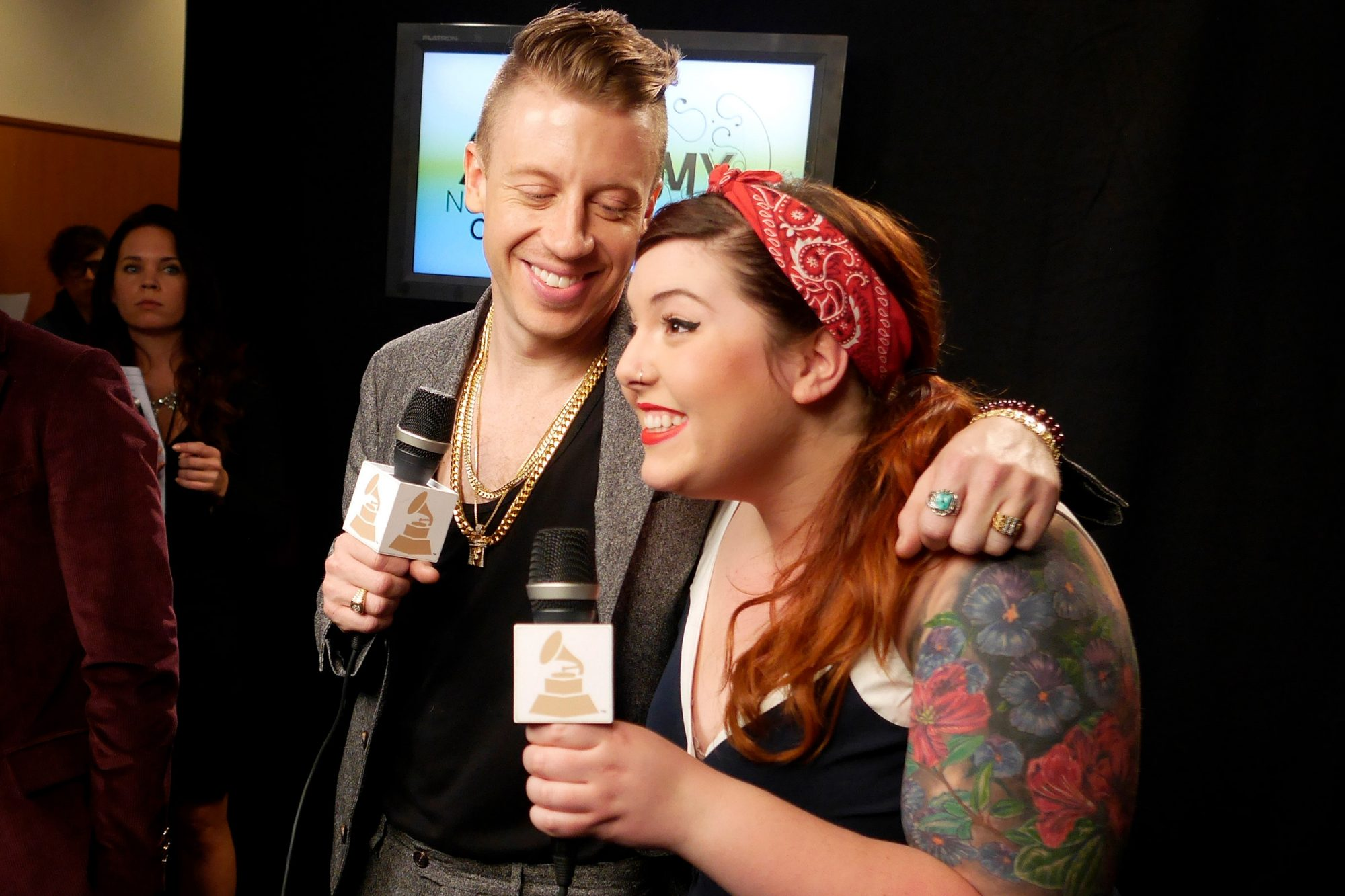 Macklemore, Ryan Lewis, and Mary Lambert