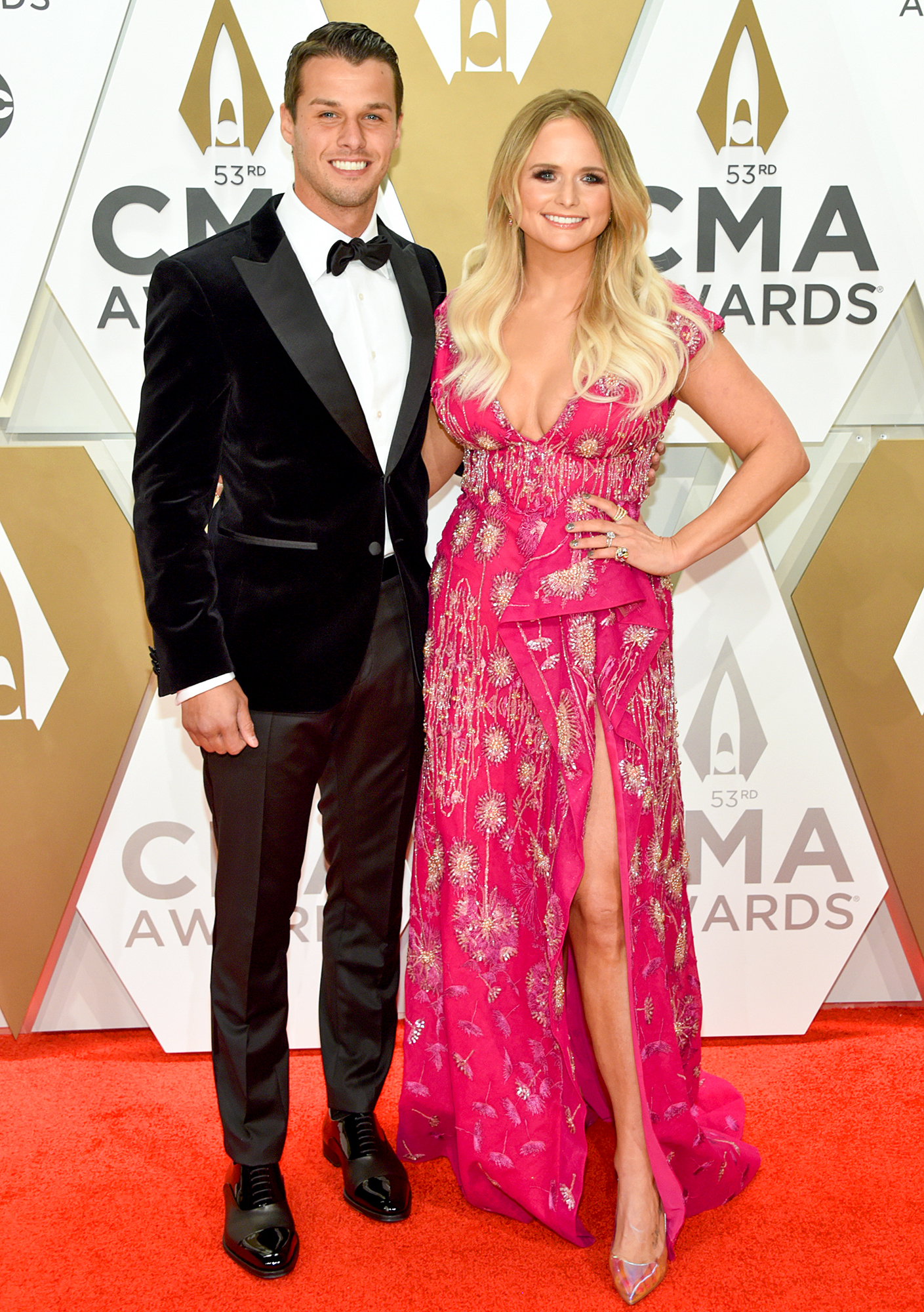 Brendan Mcloughlin and Miranda Lambert