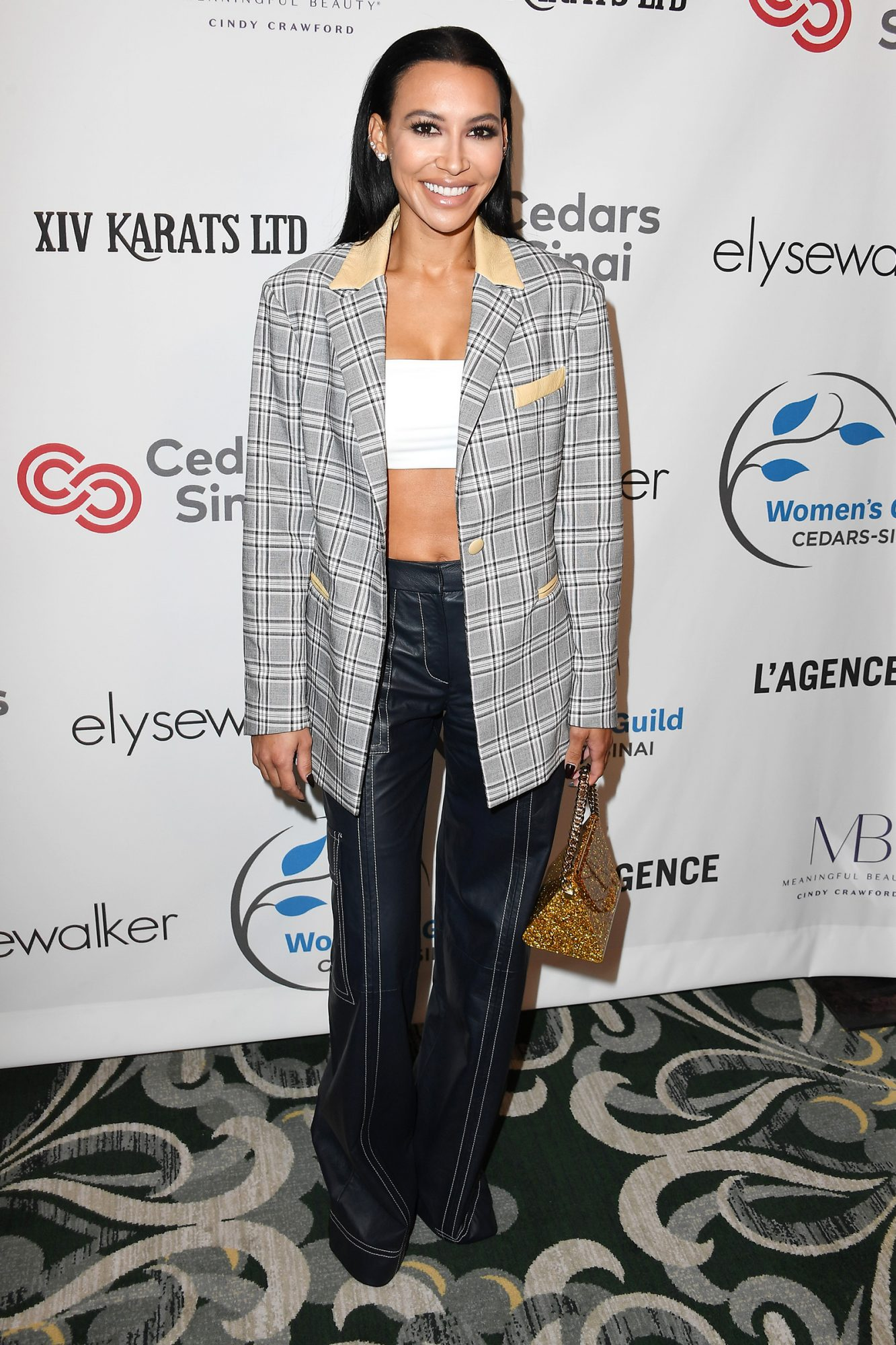 Naya Rivera arrives at the Women's Guild Cedars-Sinai Annual Luncheon at Regent Beverly Wilshire Hotel on November 06, 2019 in Beverly Hills, California