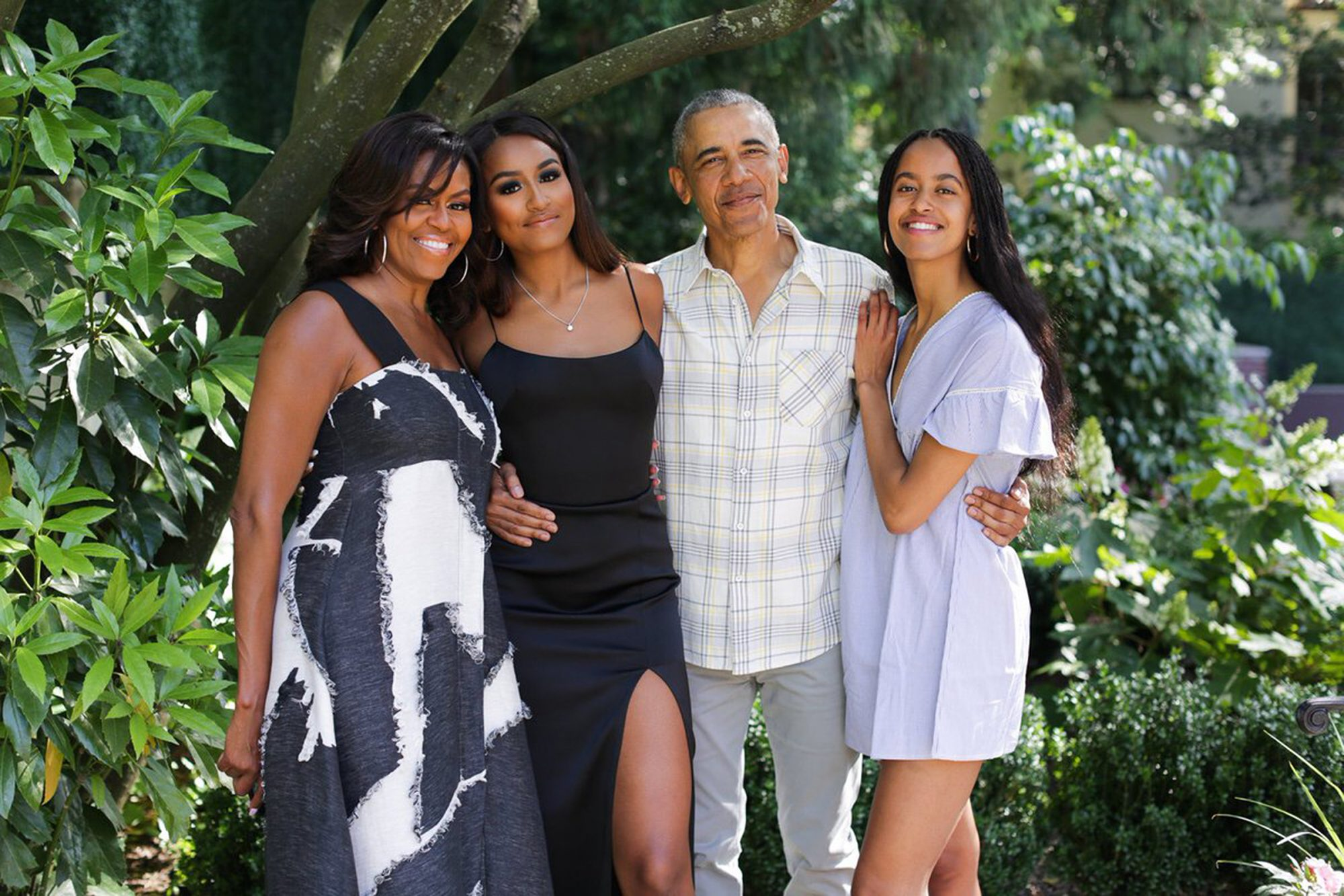 Obama family Thanksgiving