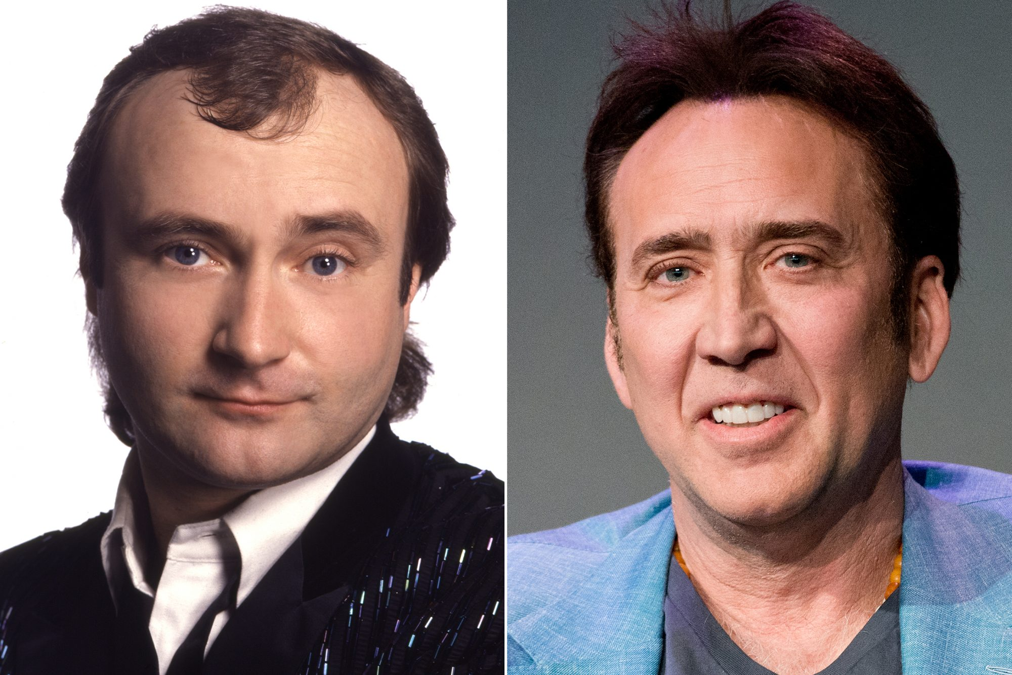 Phil Collins, Nic Cage