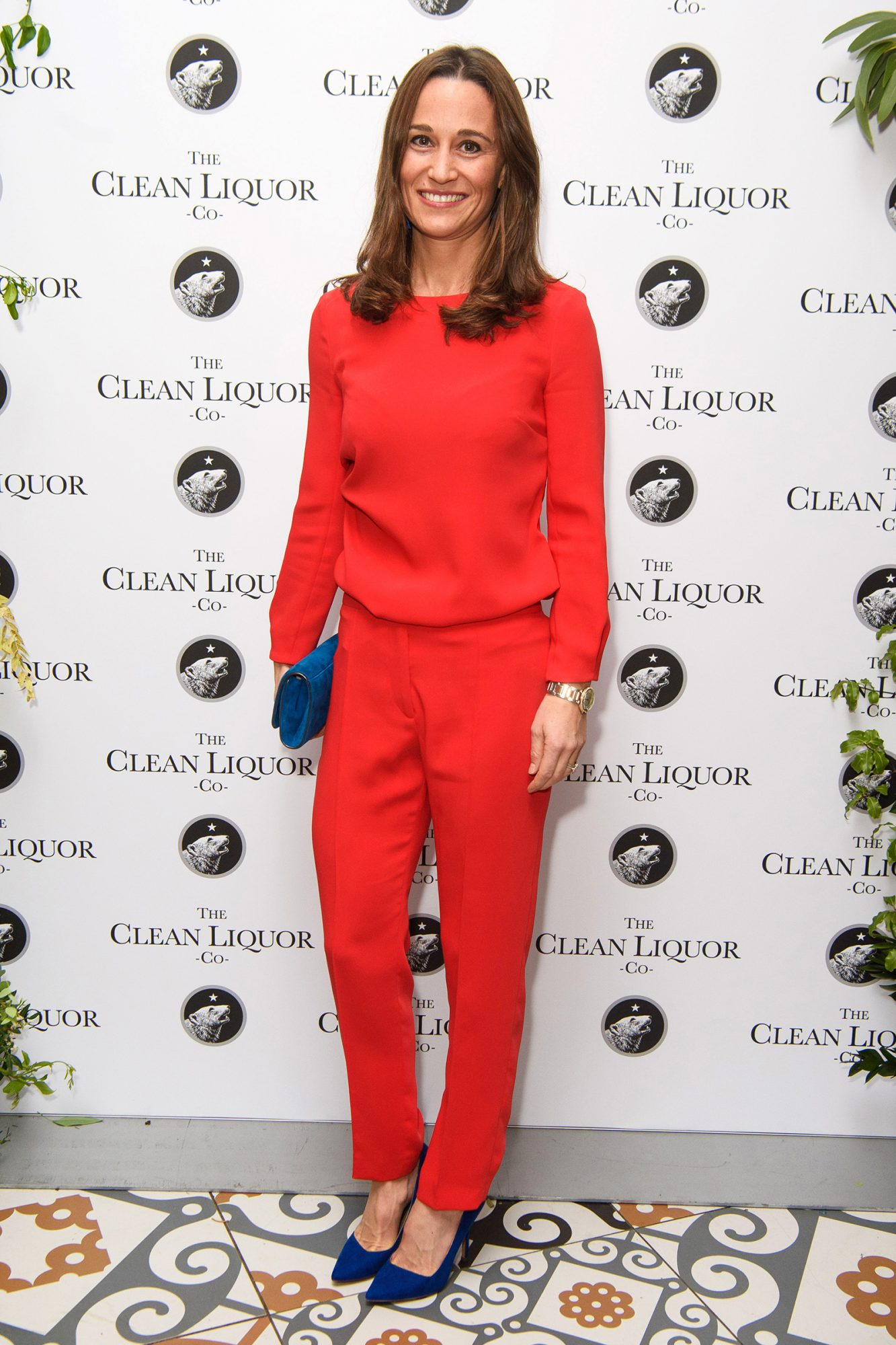 Pippa Matthews attending Spencer Matthews' launch of The Clean Liquor Company, at The Trading House in London. The company is launching the world's first 1.2% abv 'CleanGin', an ultra-low alcohol replacement to gin. Picture date: Tuesday November 12, 2019
