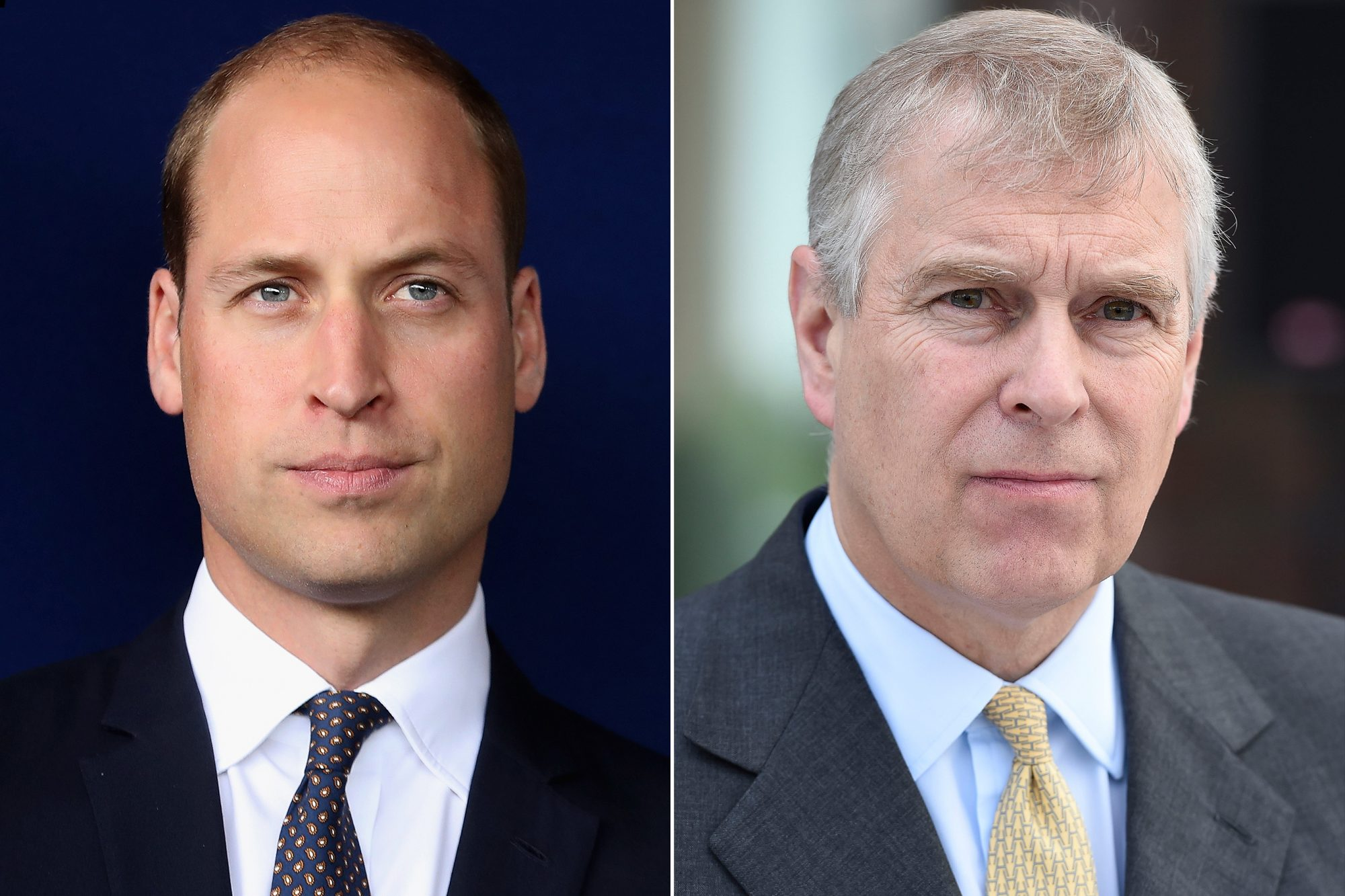 Prince William, Prince Andrew