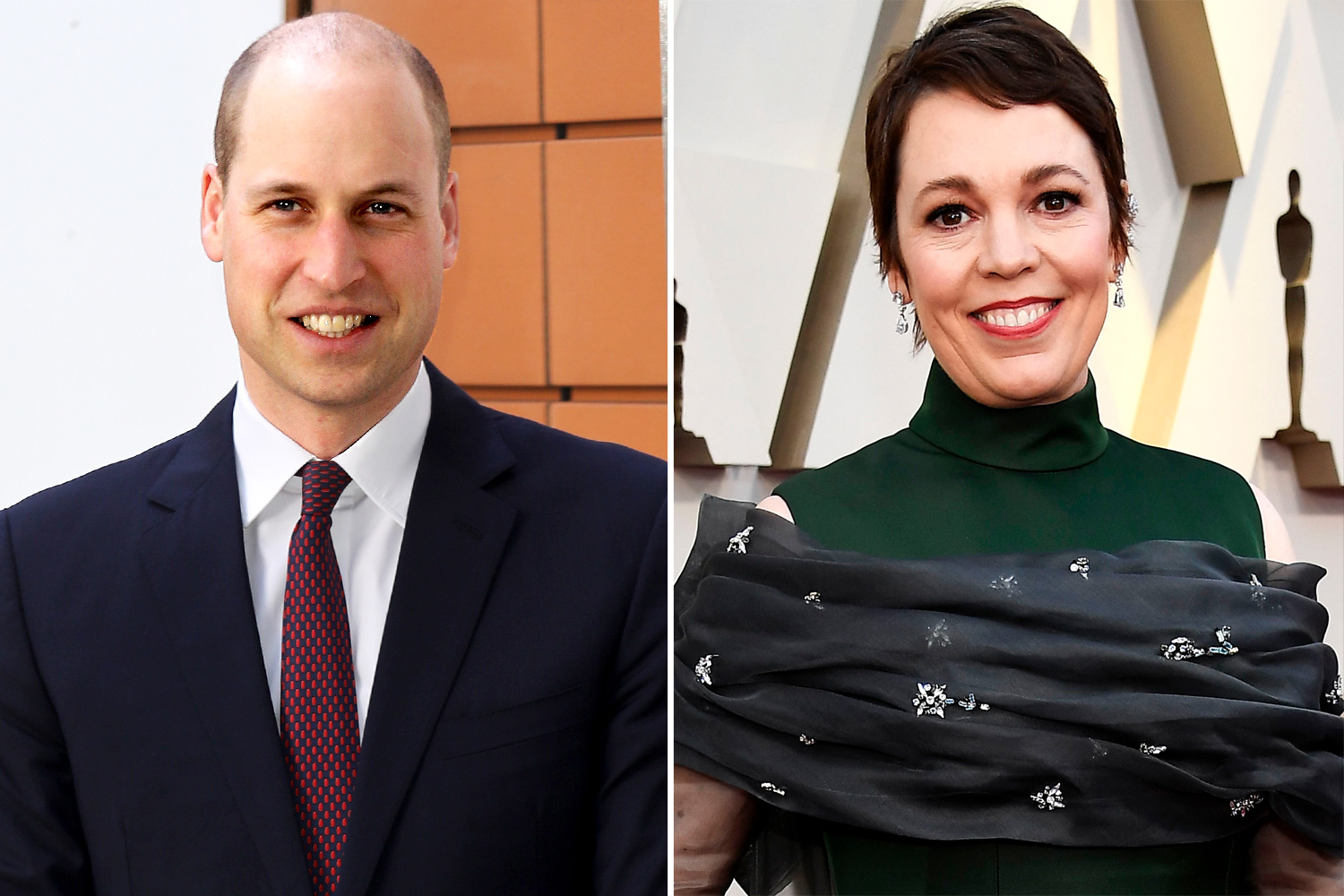 William, Duke of Cambridge and Olivia Coleman