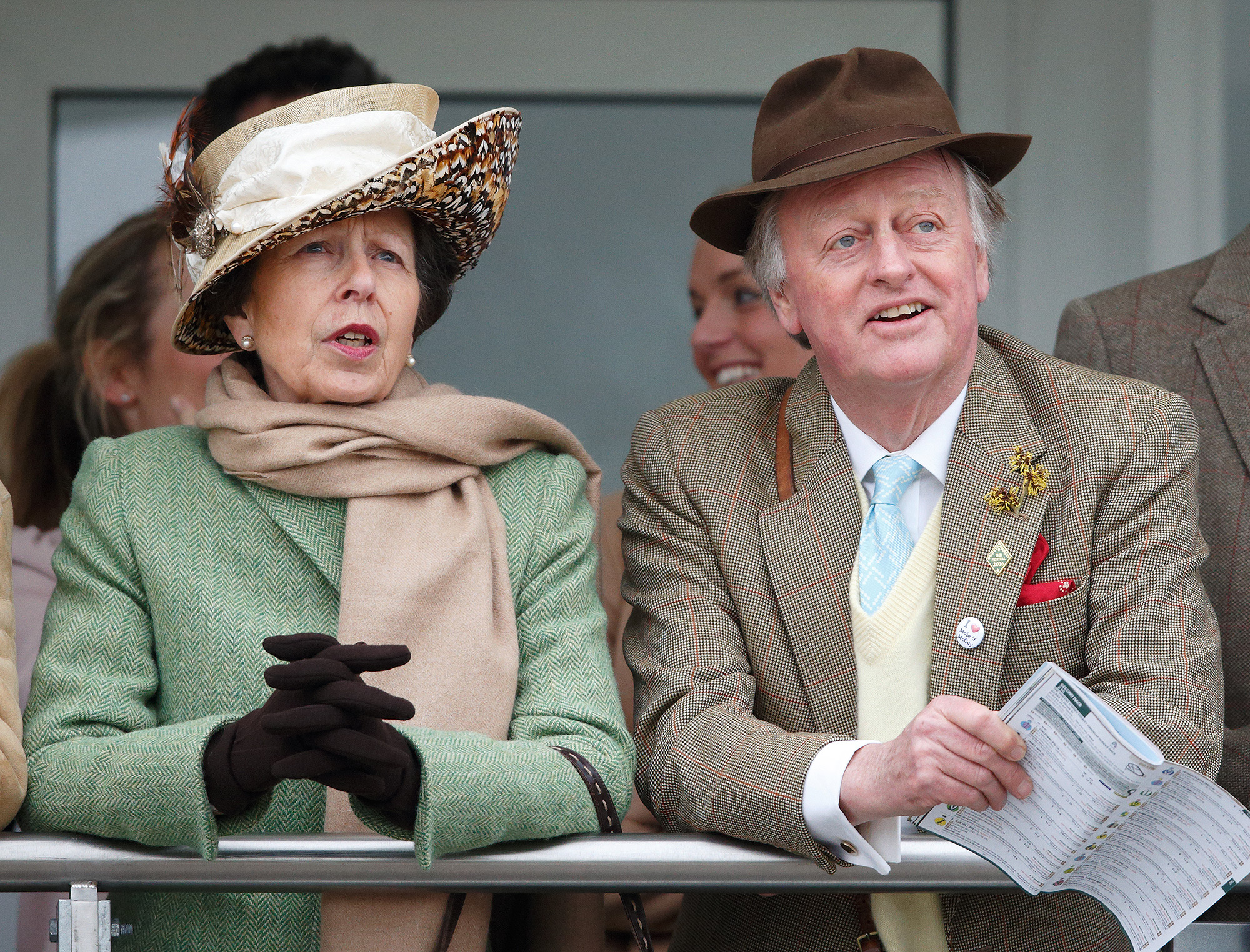 The Princess Royal and Andrew Parker Bowles