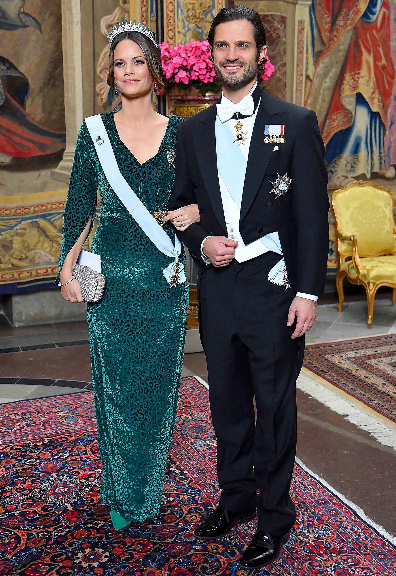 Princess Sofia of Sweden and Prince Carl Philip Swedish Royal Dinner,
