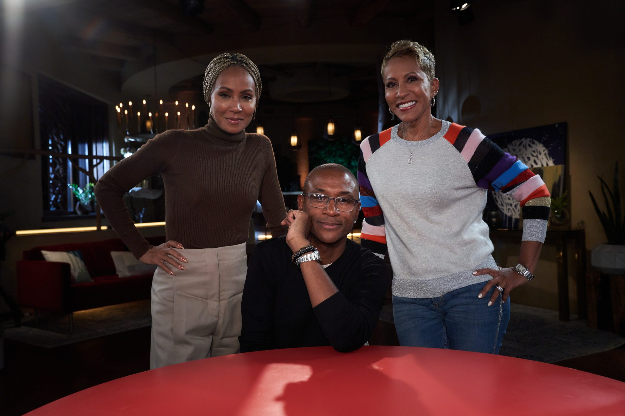 Red Table Talk Tommy Davidson