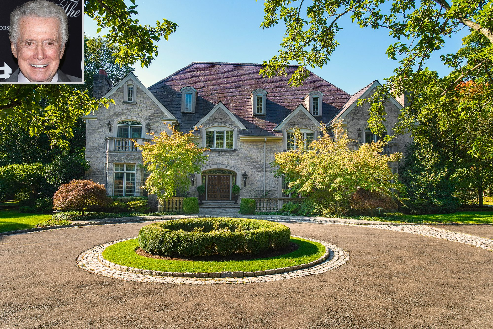 Regis Philbin lists home