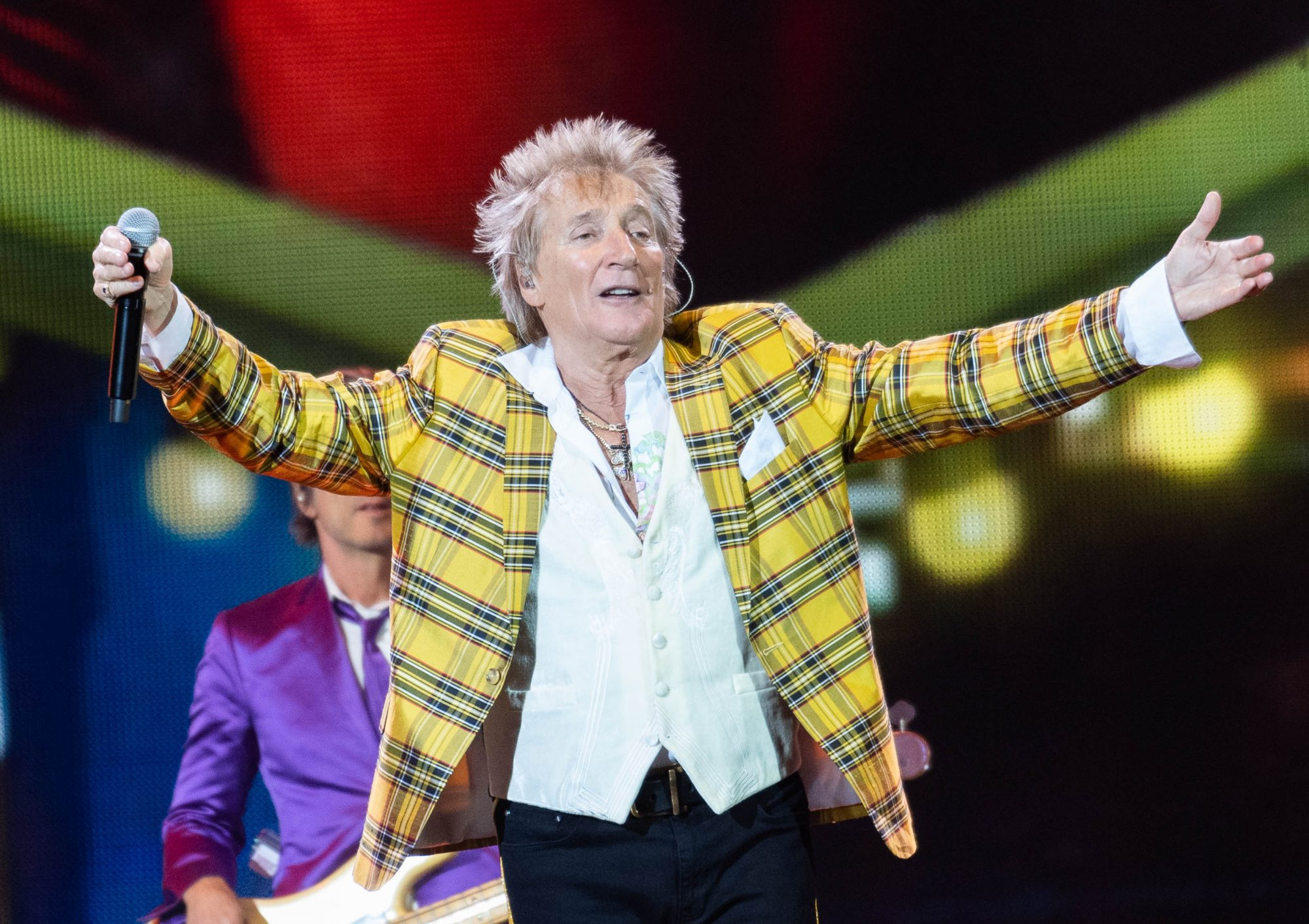 Rod Stewart Performs At The SSE Hydro, Glasgow