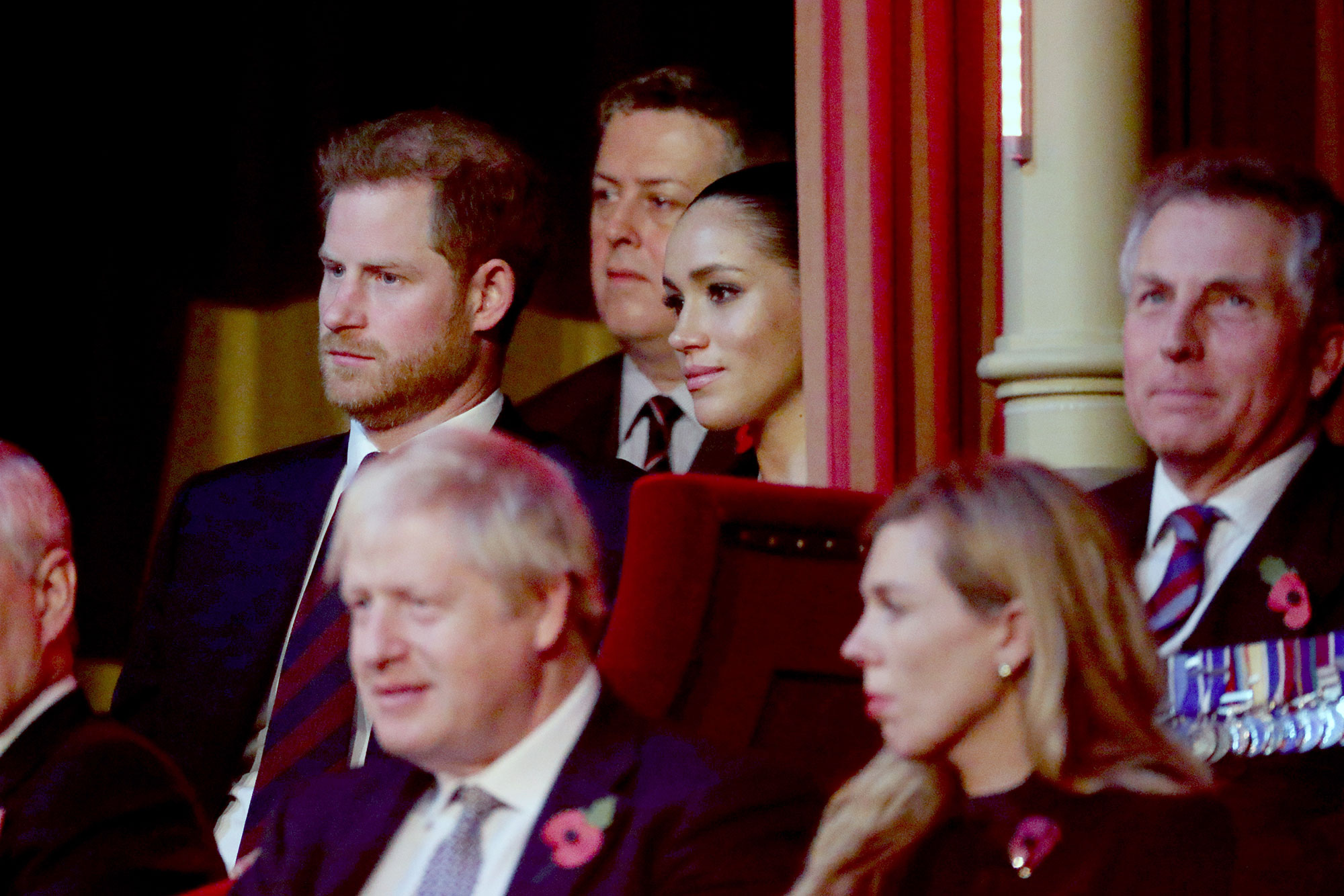Prince Harry, Duke of Sussex, Meghan, Duchess of Sussex and Prime Ministe