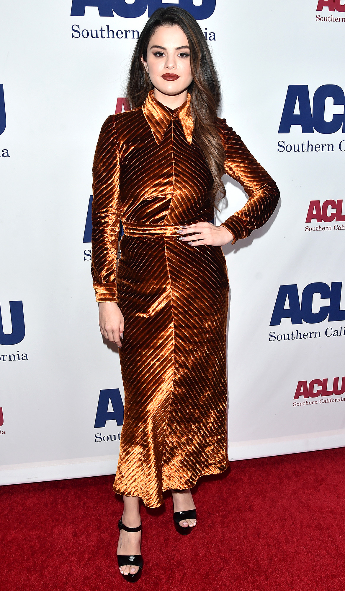 Selena Gomez attends ACLU SoCal's Annual Bill of Rights dinner