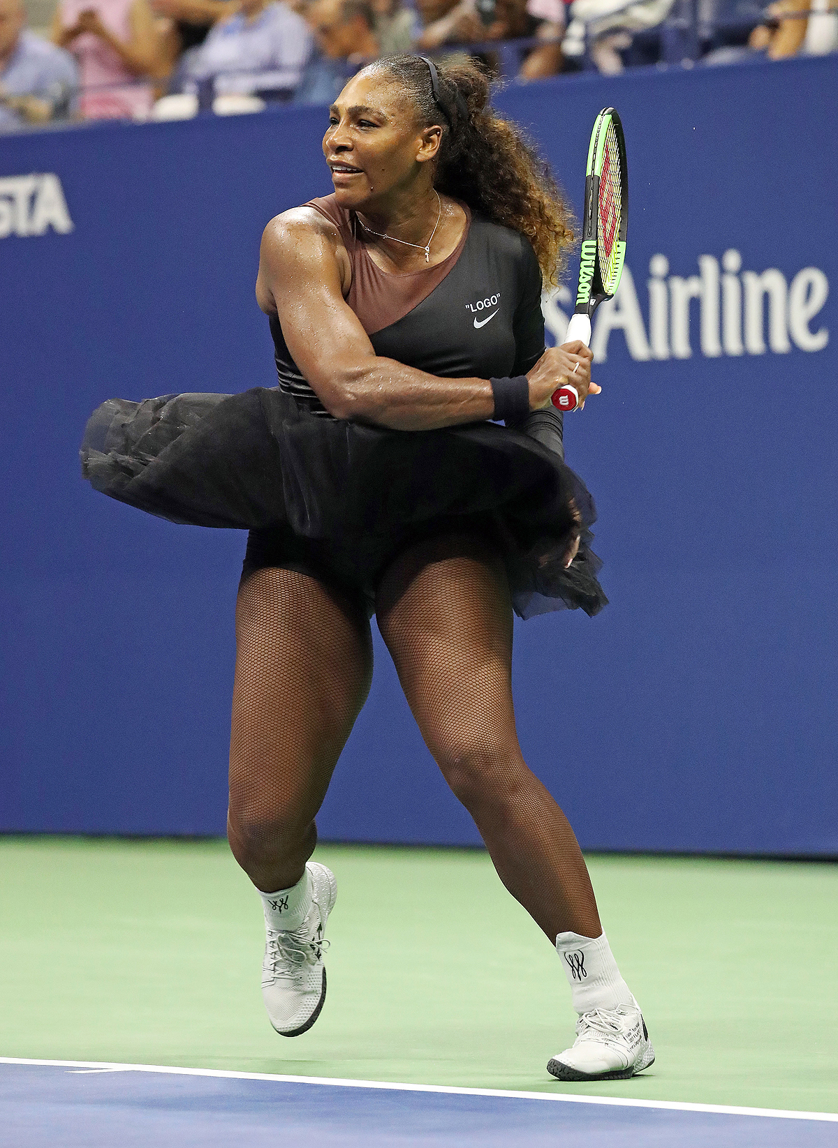 Serena Williams Competes At The 2018 US Open In New York