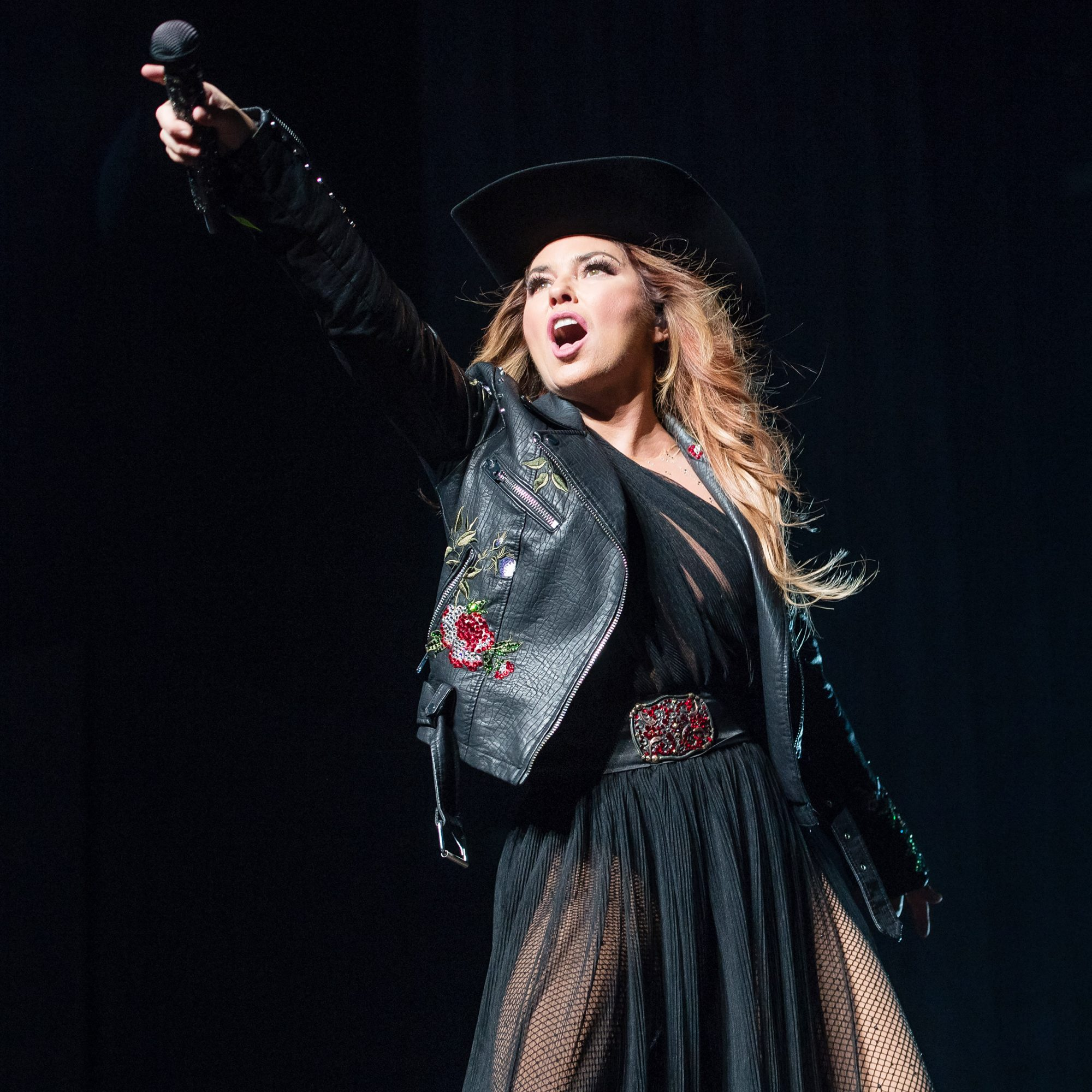 Shania Twain Performs At The SSE Hydro