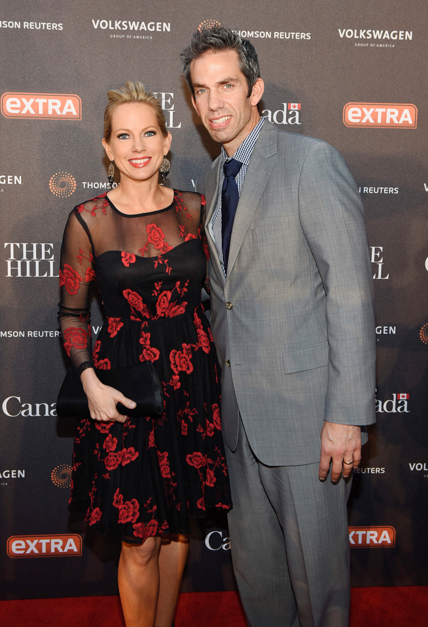 Shannon Bream and husband