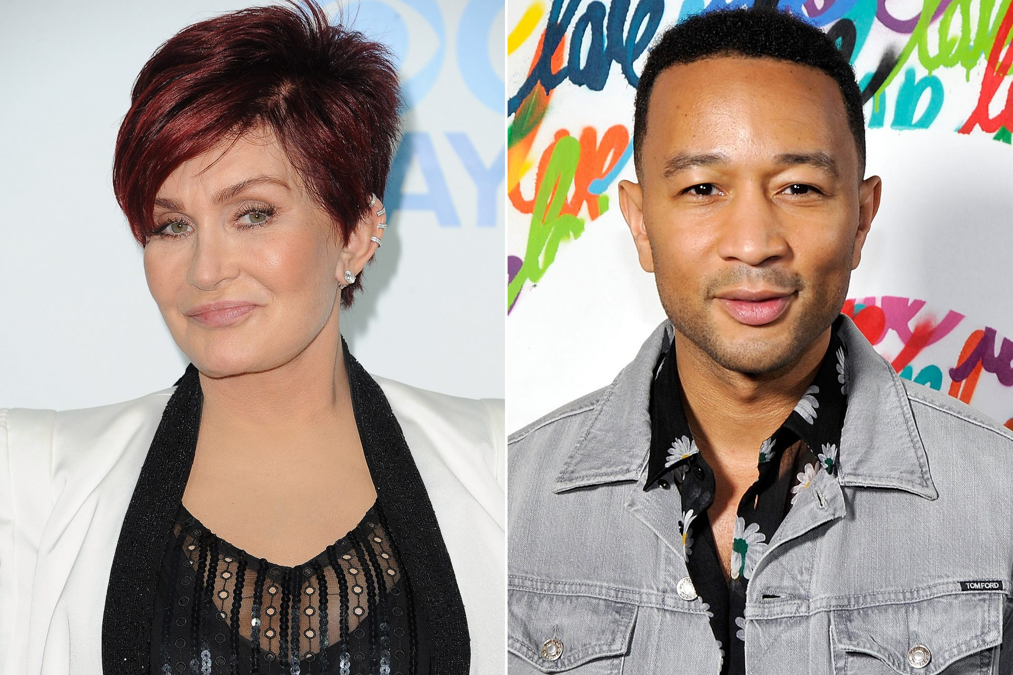Sharon Osbourne, John Legend