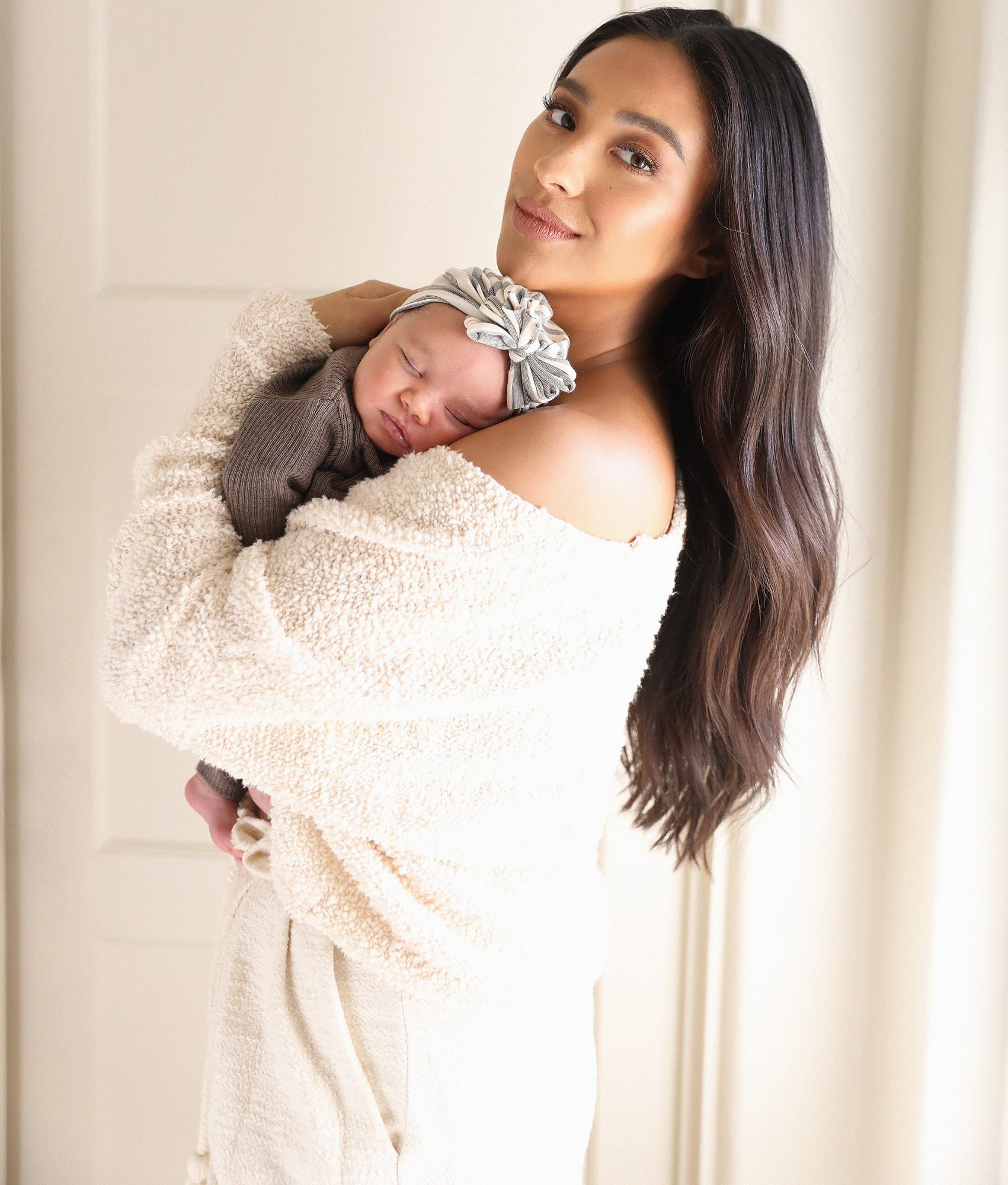 Shay Mitchell birth announcement