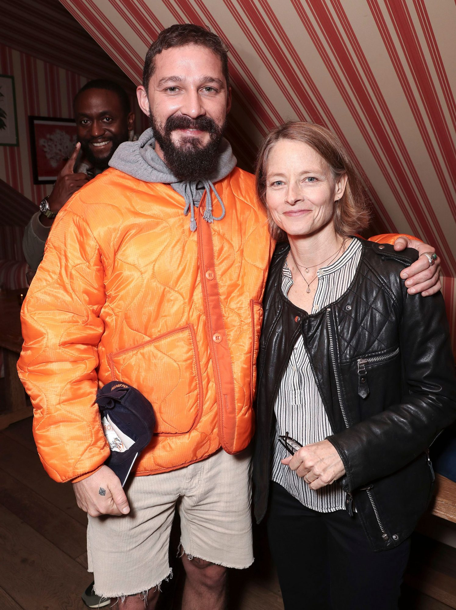 Shia LaBeouf and Jodie Foster