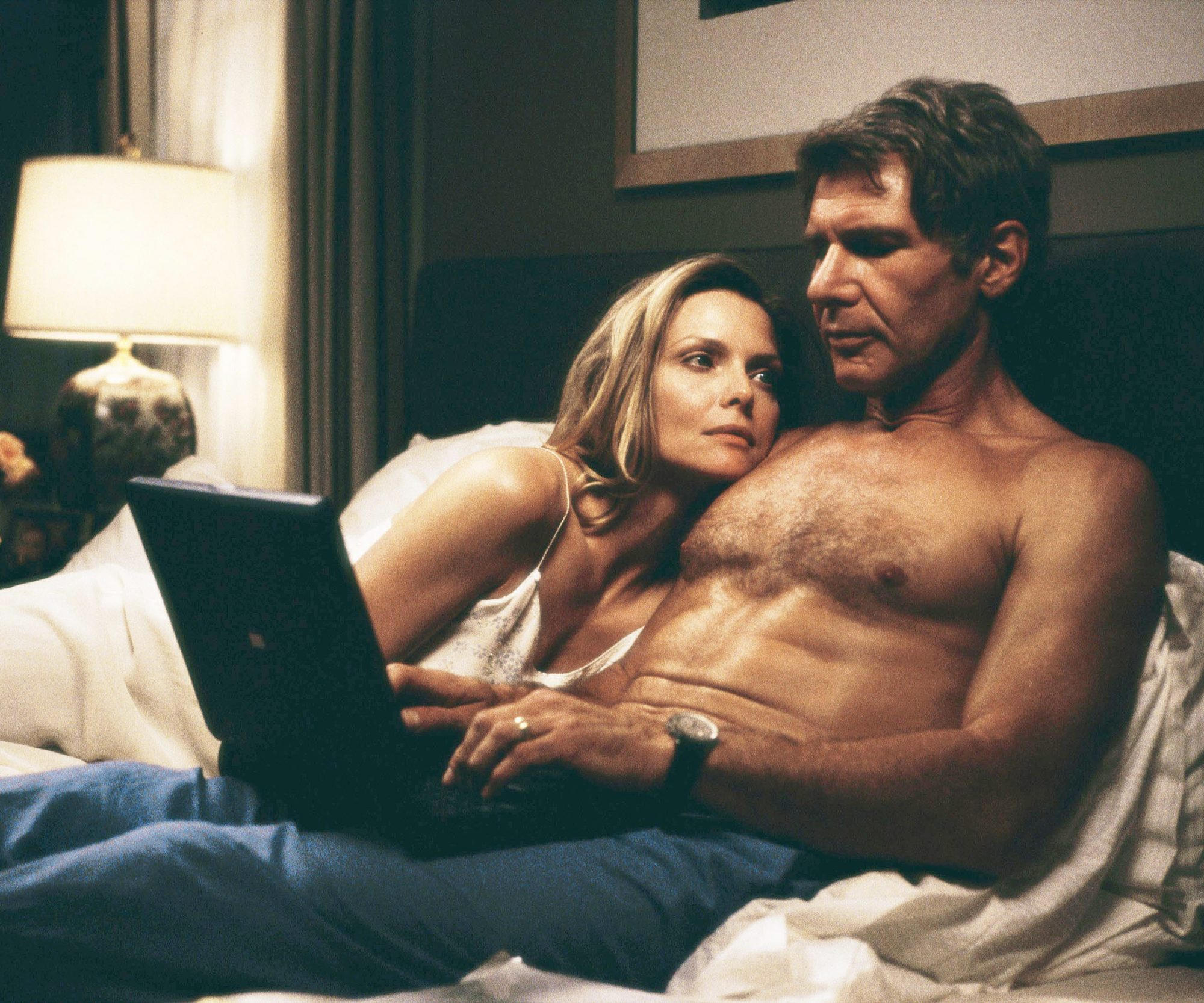 Harrison Ford shirtless