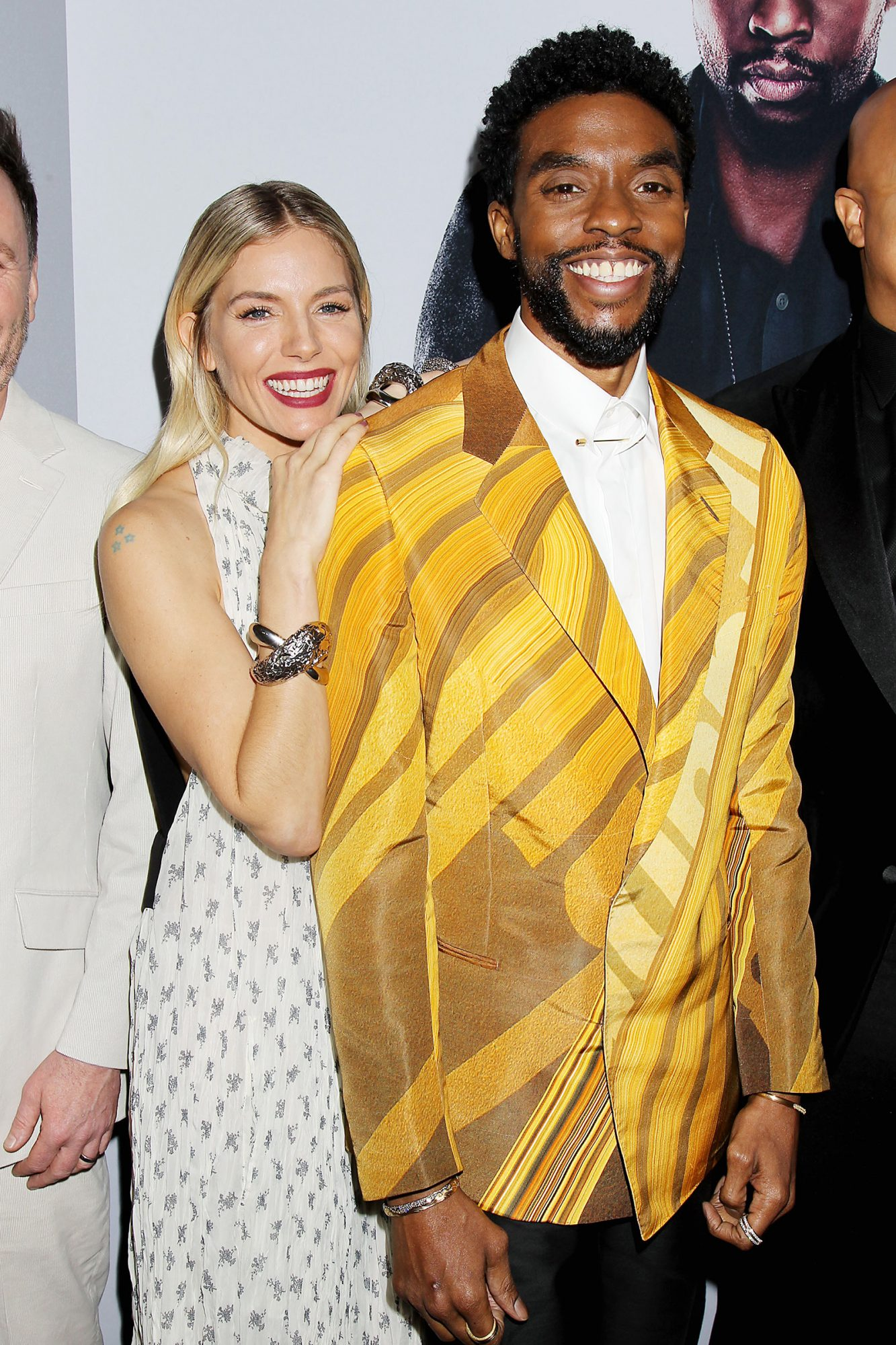"Sienna Miller and Chadwick Boseman The World Premiere of ""21 Bridges "", New York, USA - 19 Nov 2019"
