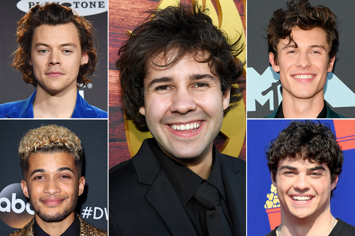 SMA POLL: Sexiest Heartthrob; Shawn Mendes Harry Styles Noah Centineo David Dobrik Jordan Fisher