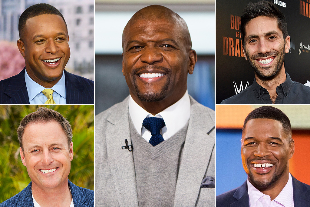 SMA POLL; Sexiest TV Host: Craig Melvin (Today Show) Michael Strahan (Strahan, Sara & Keke) Chris Harrison (The Bachelor) Terry Crews (America's Got Talent) Nev Schulman (Catfish)