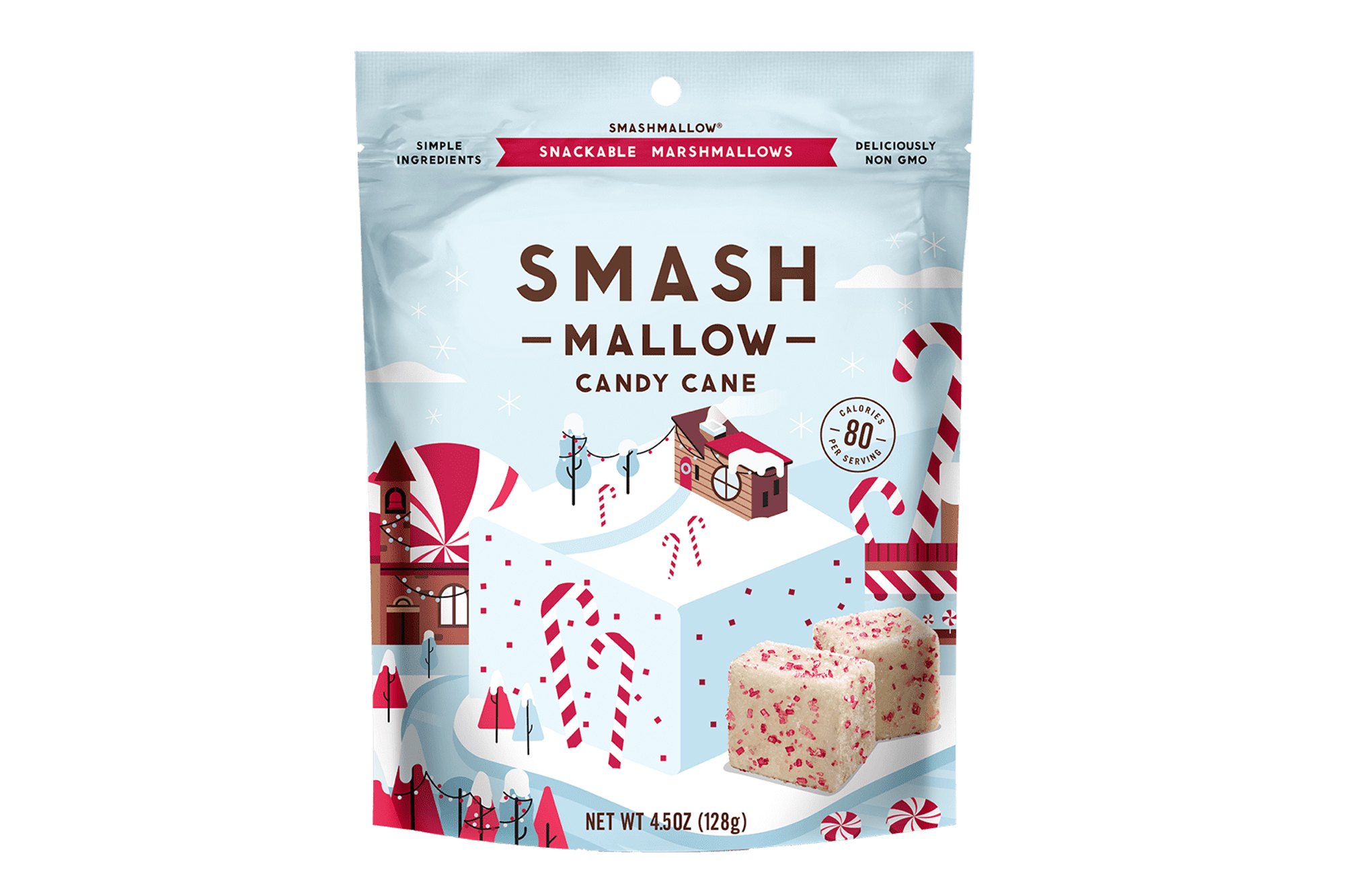 Smash Mallow Candy Cane