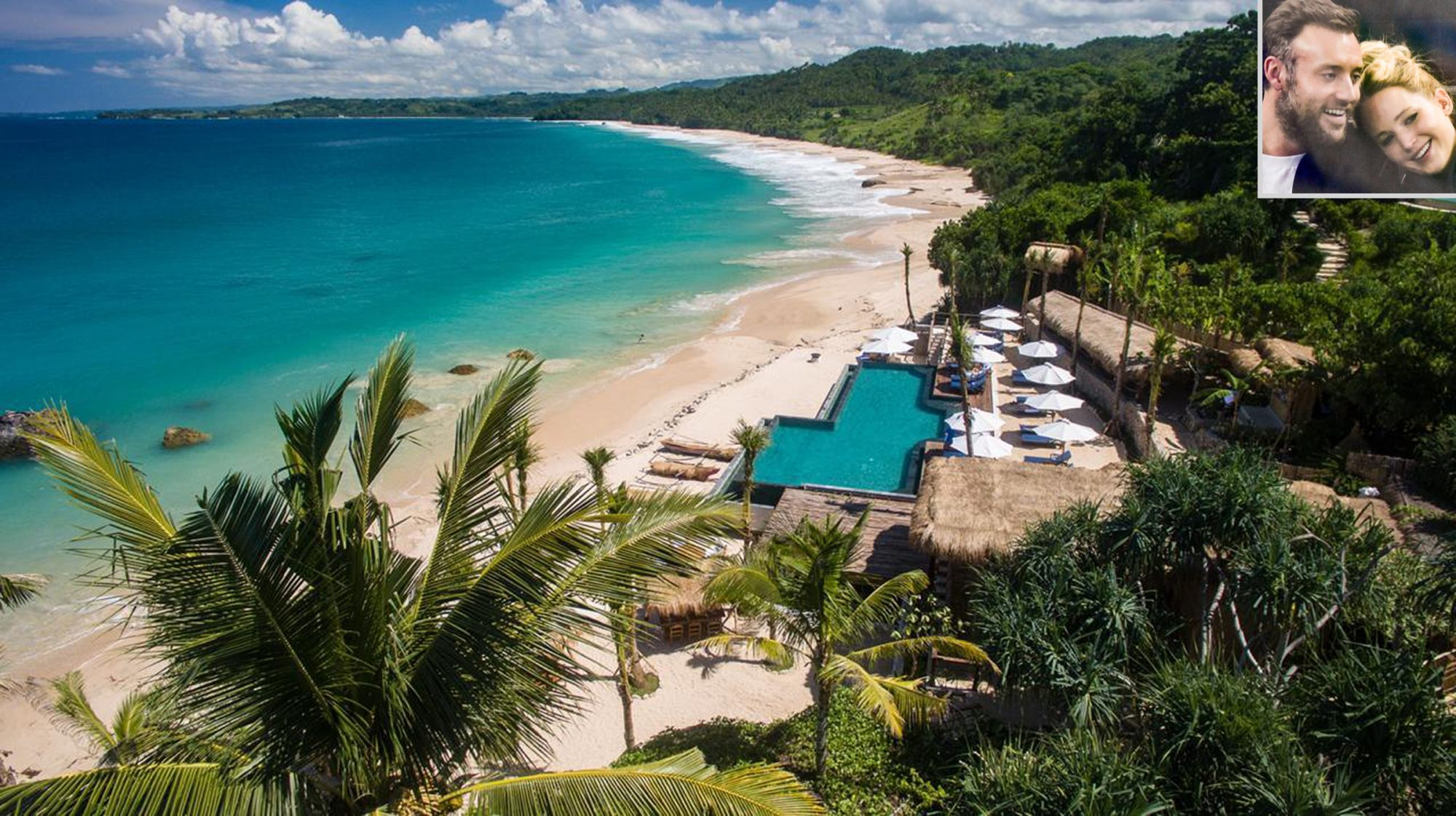 Sumba Nihi resort, Jennifer Lawrence and Cooke Maroney