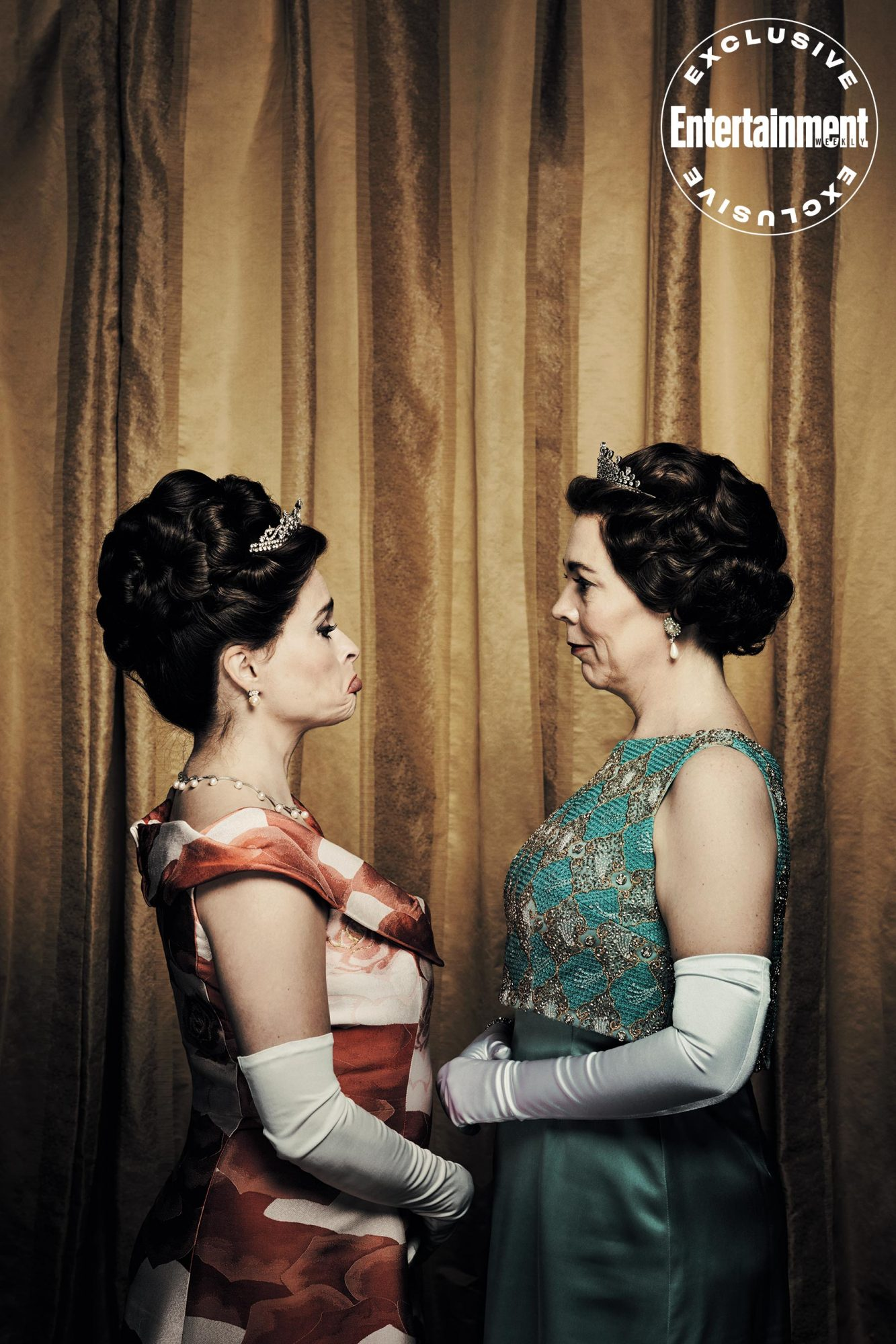 The Crown Helena Bonham Carter Olivia Colman