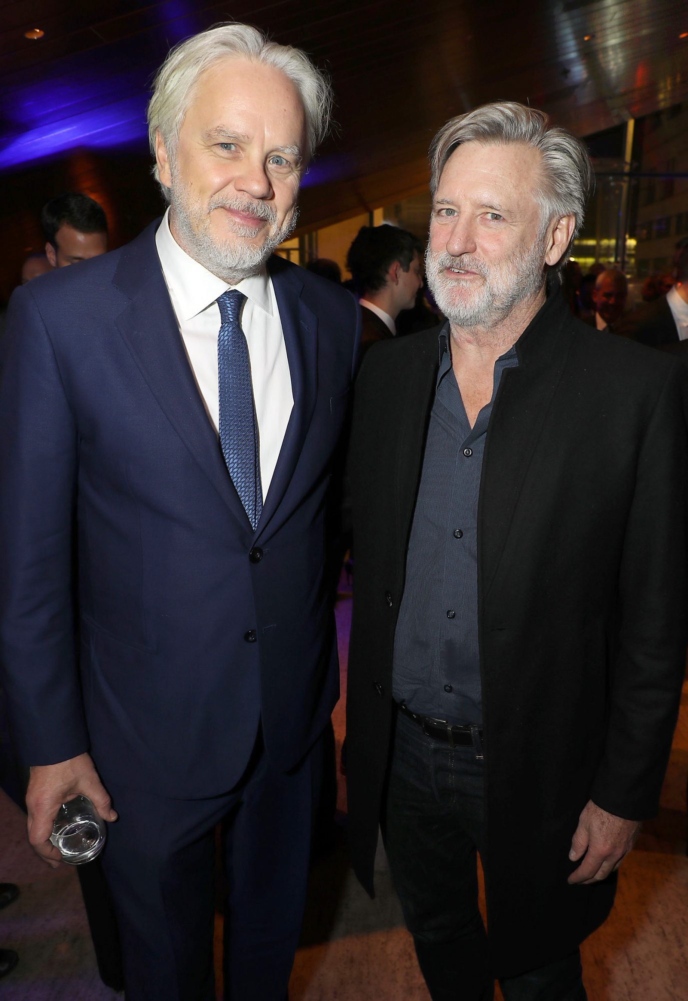 Tim Robbins, Bill Pullman New York Premiere of Focus Features' film 'Dark Waters' - After Party held at Lincoln Ristorante, USA - 12 Nov 2019