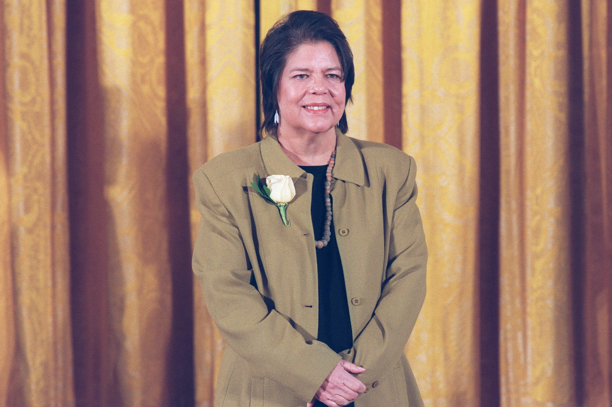Wilma Mankiller Receives Medal Of Freedom At White House