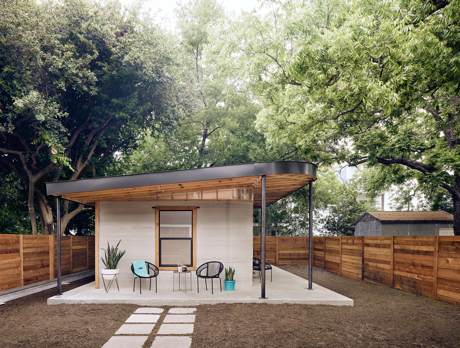 3D-Printed Homes for the Homeless